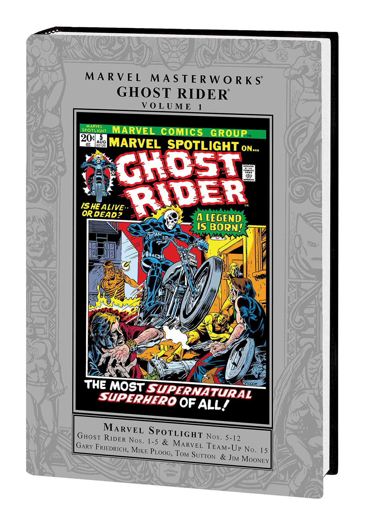MMW GHOST RIDER HC VOL 01