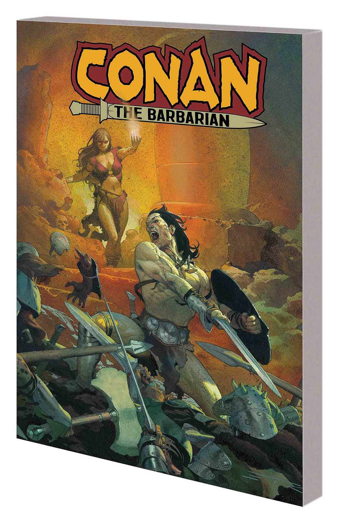 CONAN THE BARBARIAN TP VOL 01 LIFE AND DEATH OF CONAN BOOK O