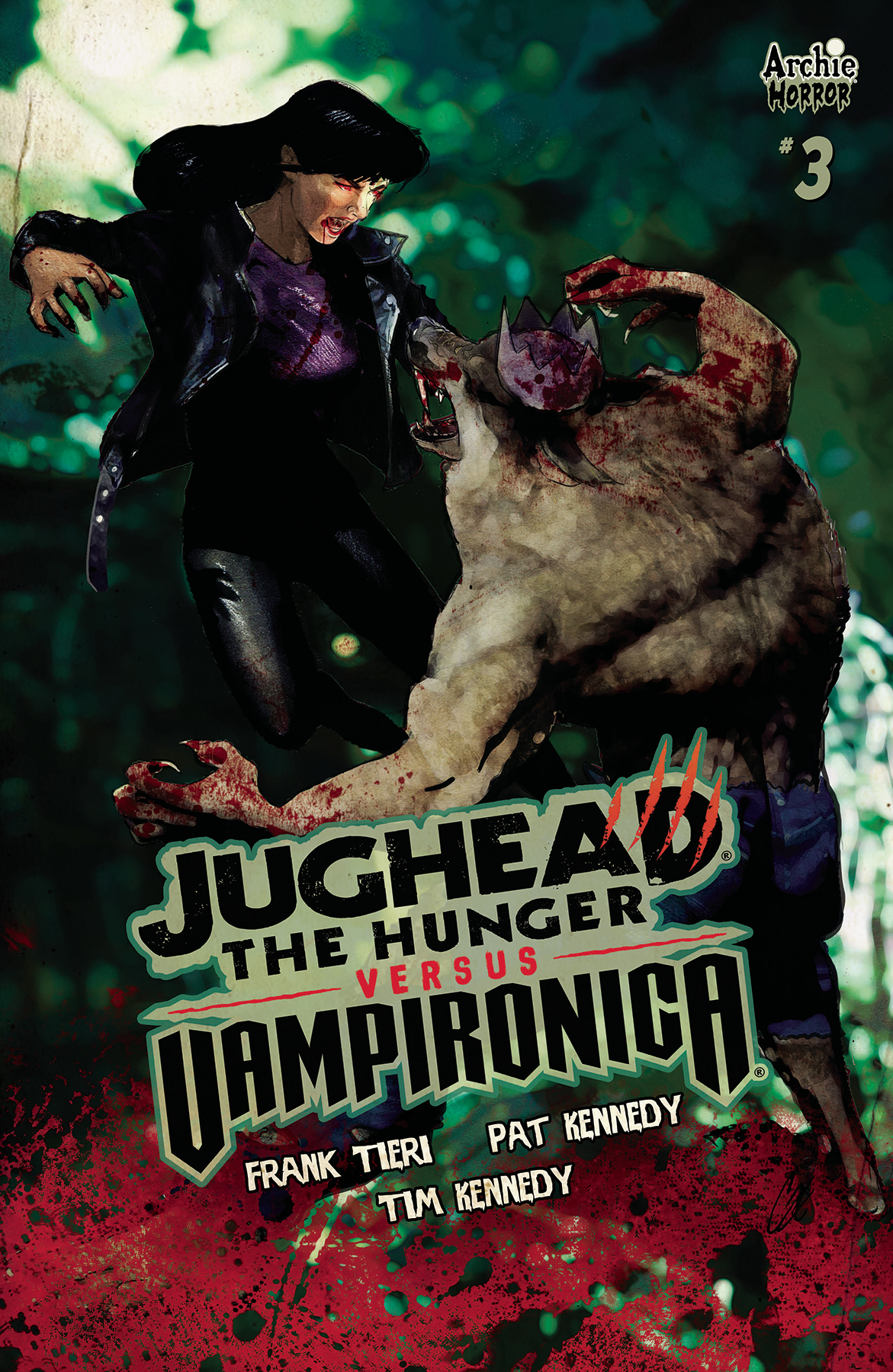 JUGHEAD HUNGER VS VAMPIRONICA #3 CVR C STAGGS (MR)