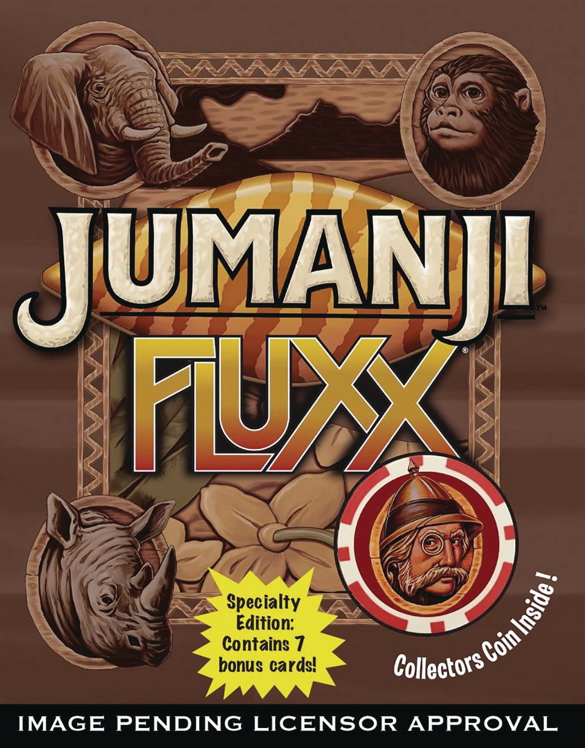 JUMANJI FLUXX SP ED CARD GAME