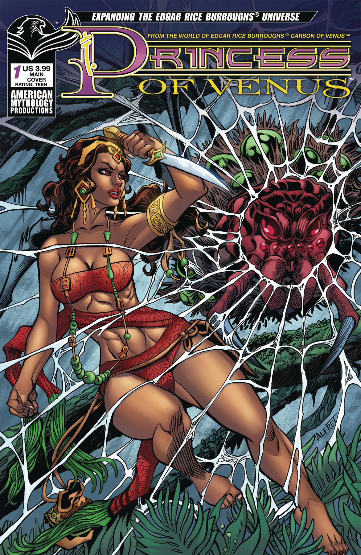 PRINCESS OF VENUS #1 MAIN CVR LE
