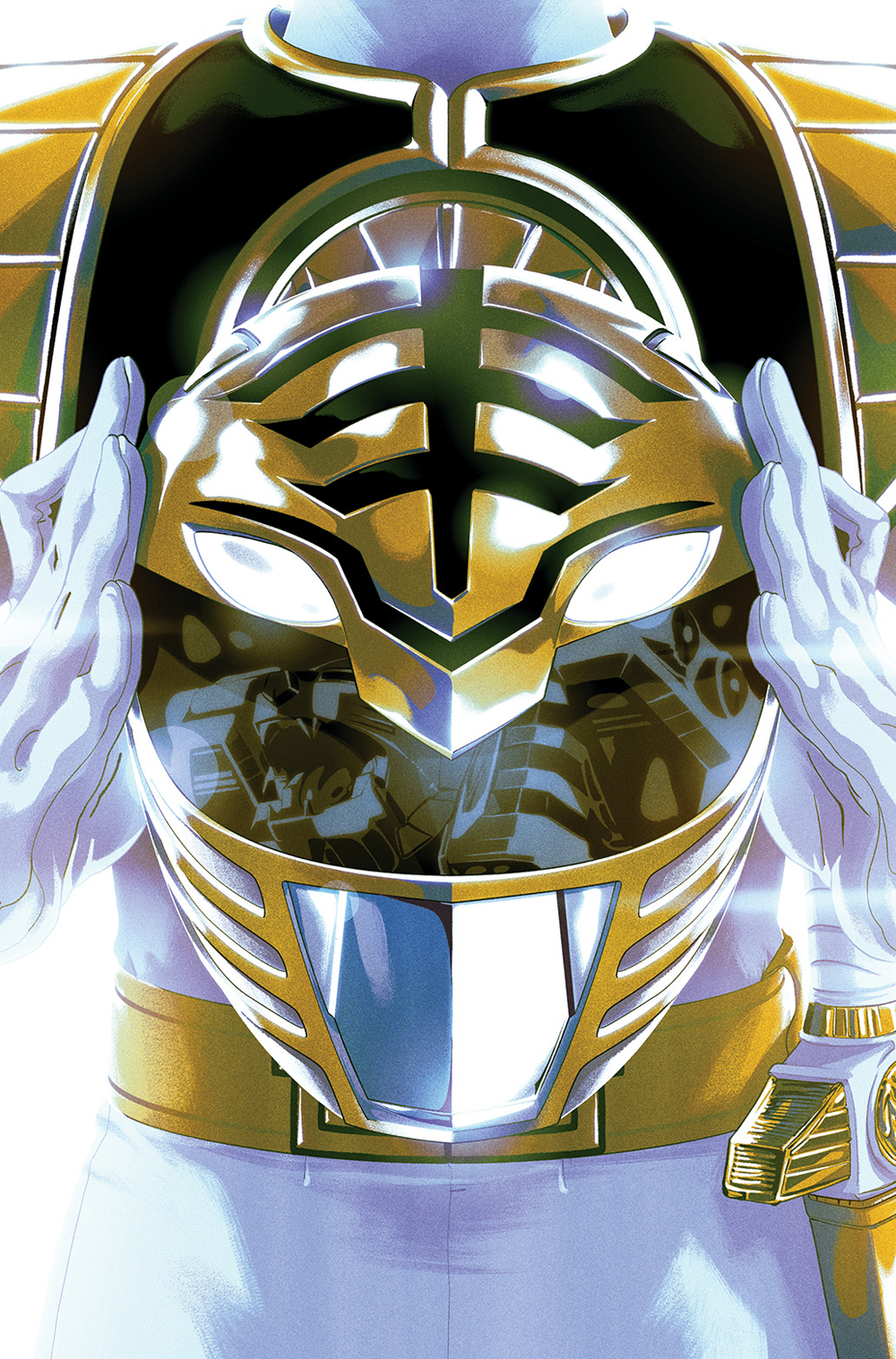 MIGHTY MORPHIN POWER RANGERS #40 FOIL MONTES VAR