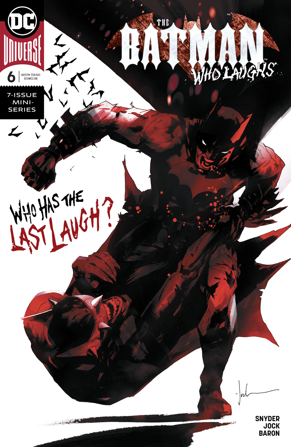 BATMAN WHO LAUGHS #6 (OF 6)
