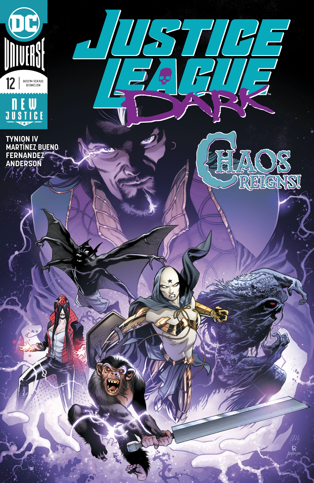 Image result for justice league dark #12