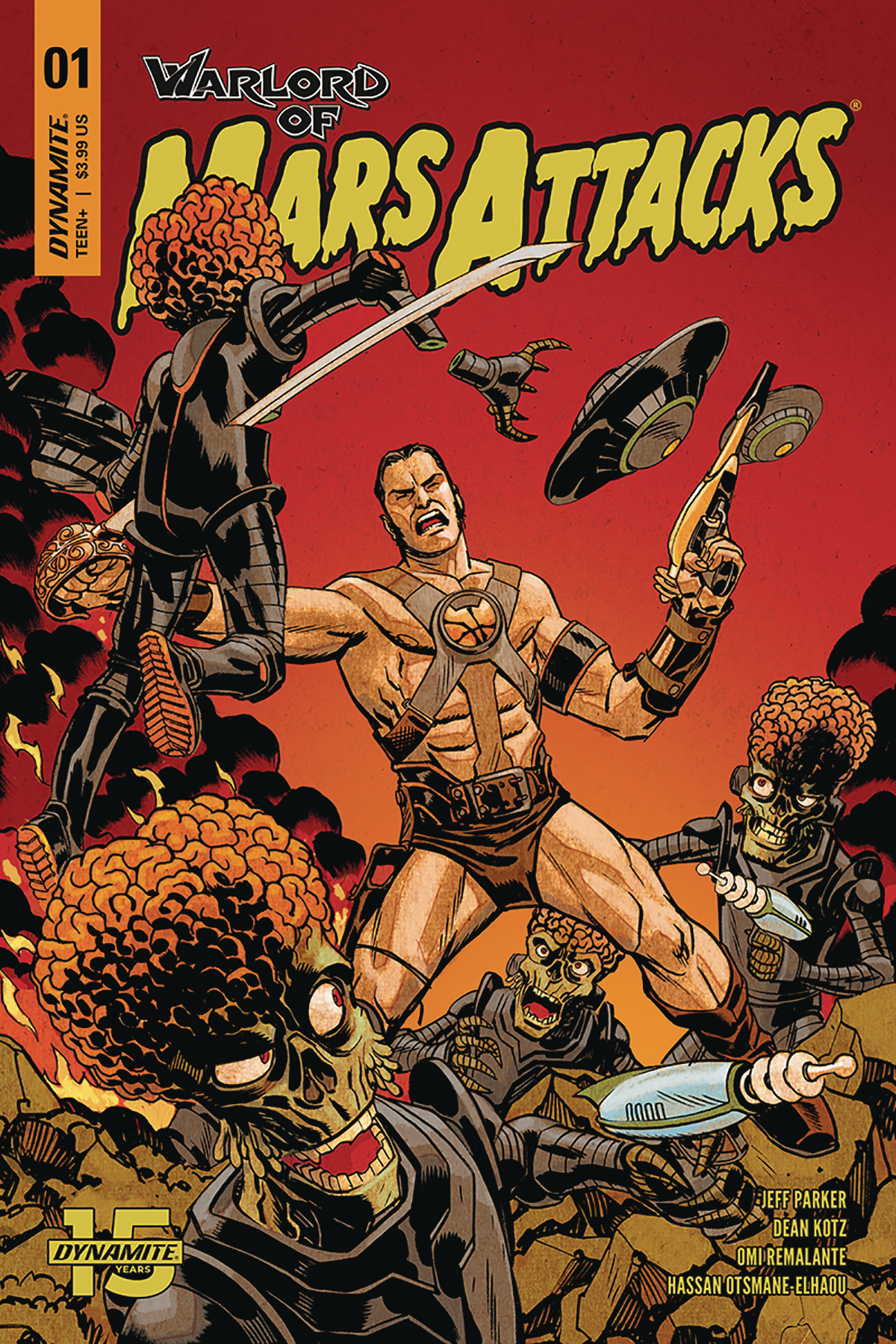 WARLORD OF MARS ATTACKS #1 CVR A JOHNSON