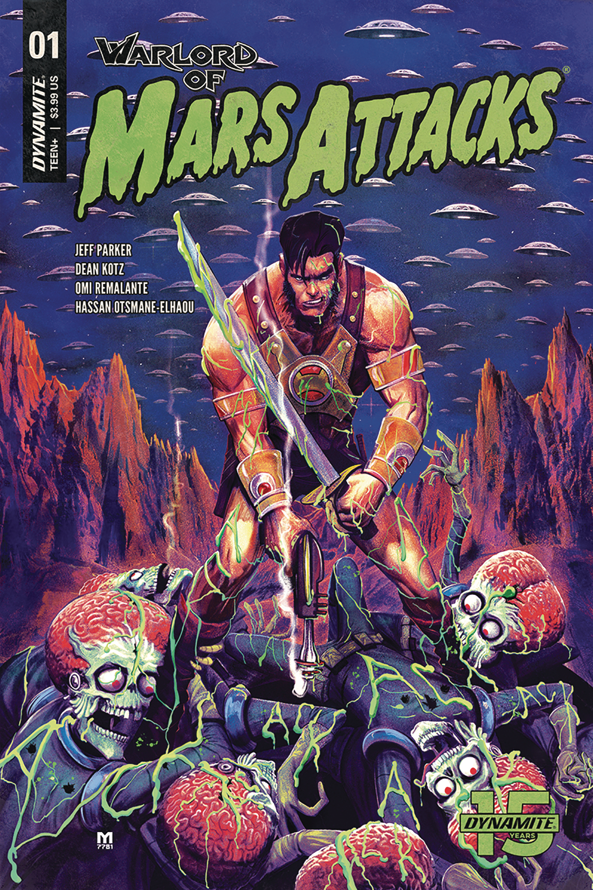 WARLORD OF MARS ATTACKS #1 CVR B D`ALFONSO