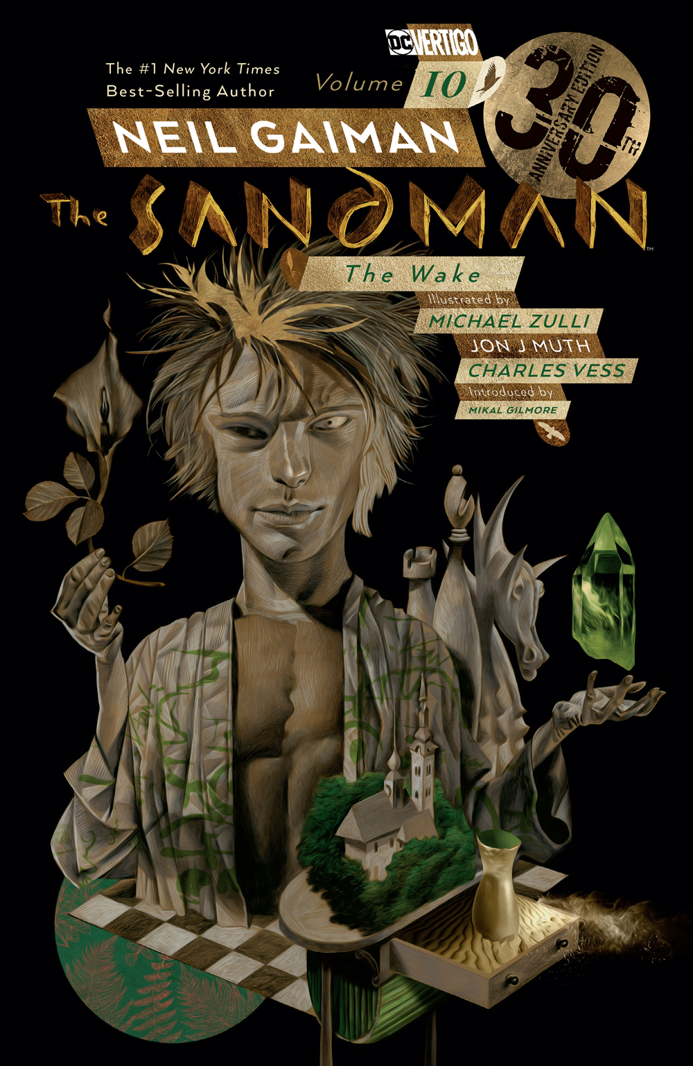 SANDMAN TP VOL 10 THE WAKE 30TH ANNIV ED (MR)