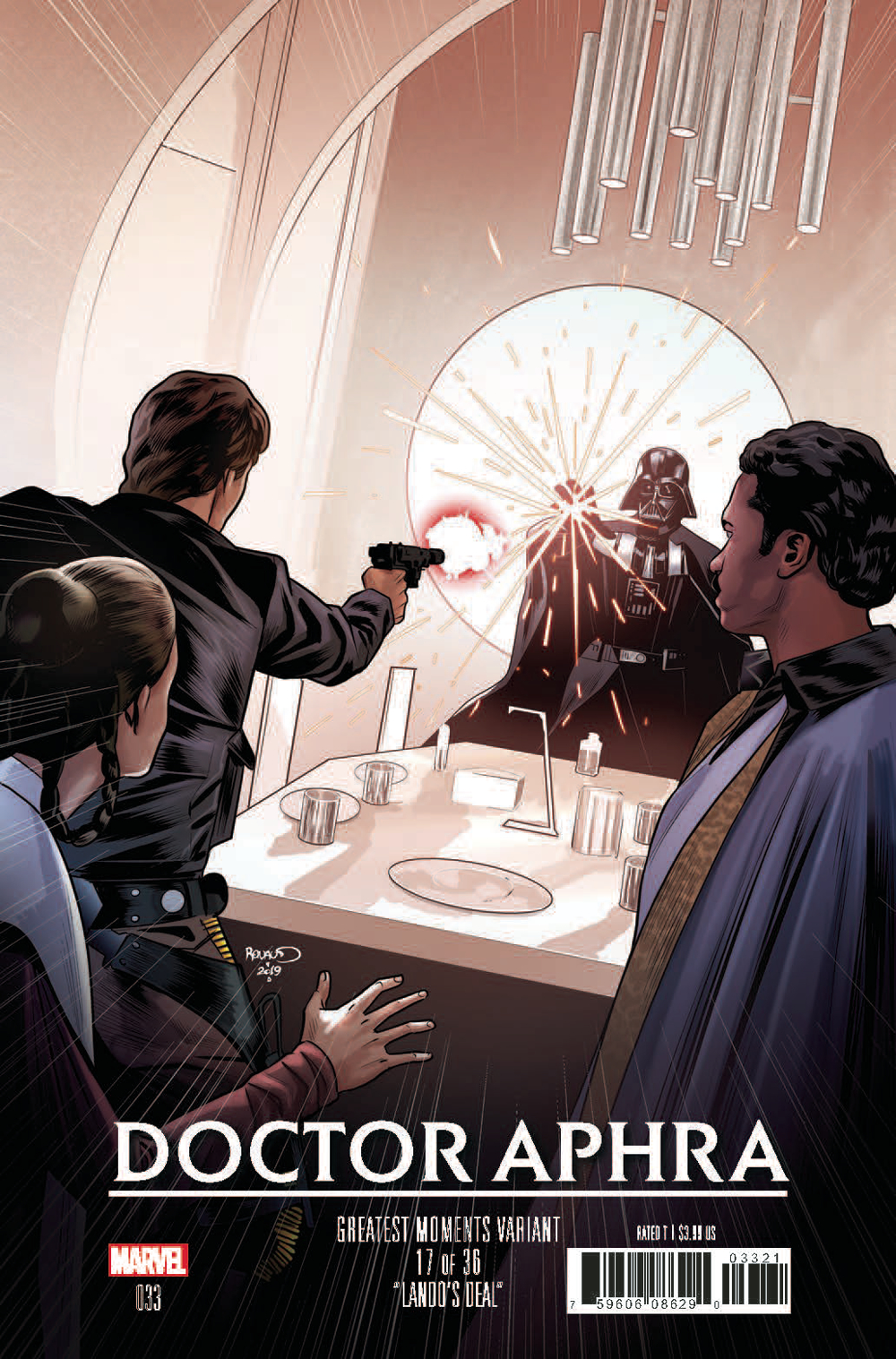 STAR WARS DOCTOR APHRA #33 RENAUD GREATEST MOMENTS VAR
