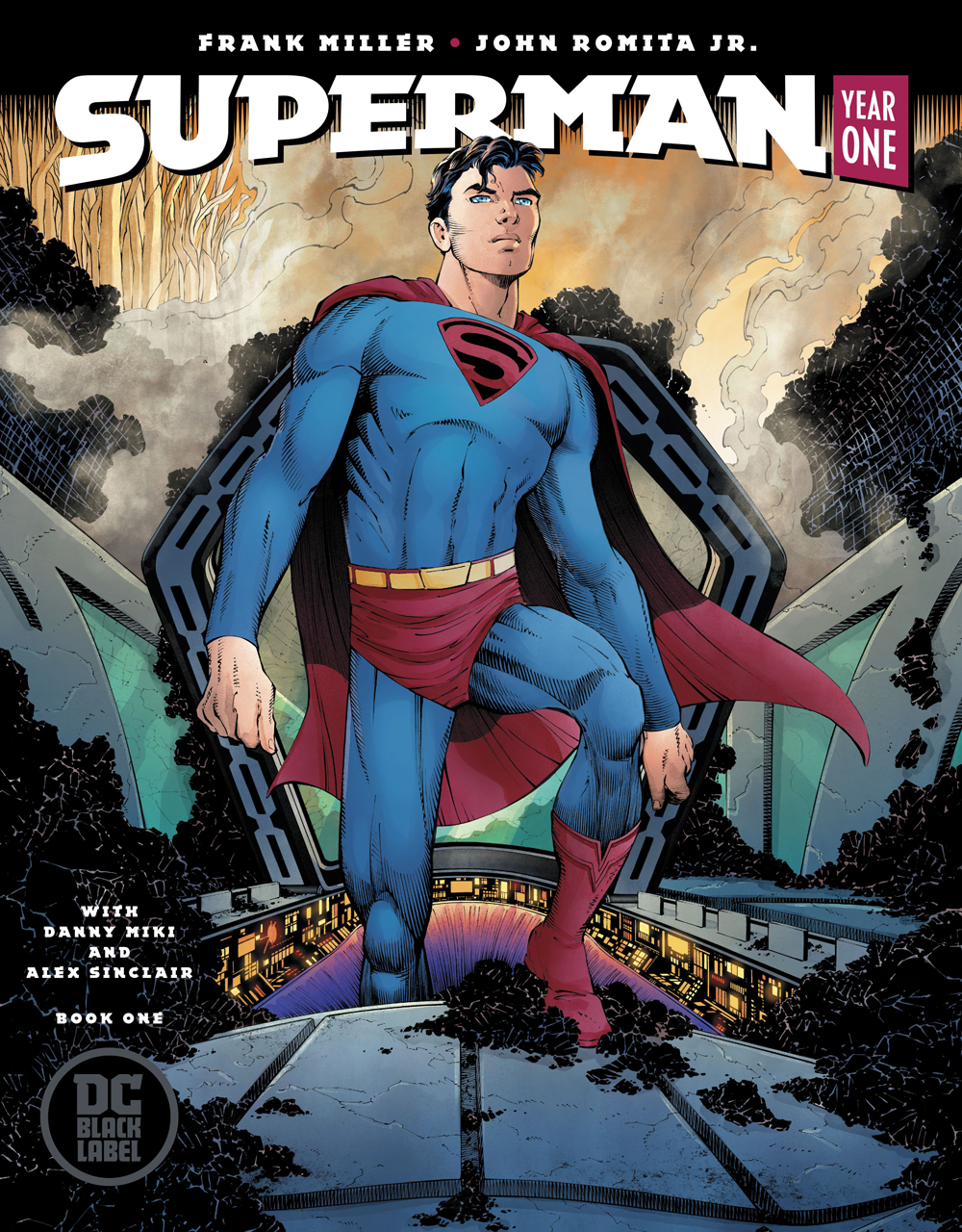 Image result for superman year one #1