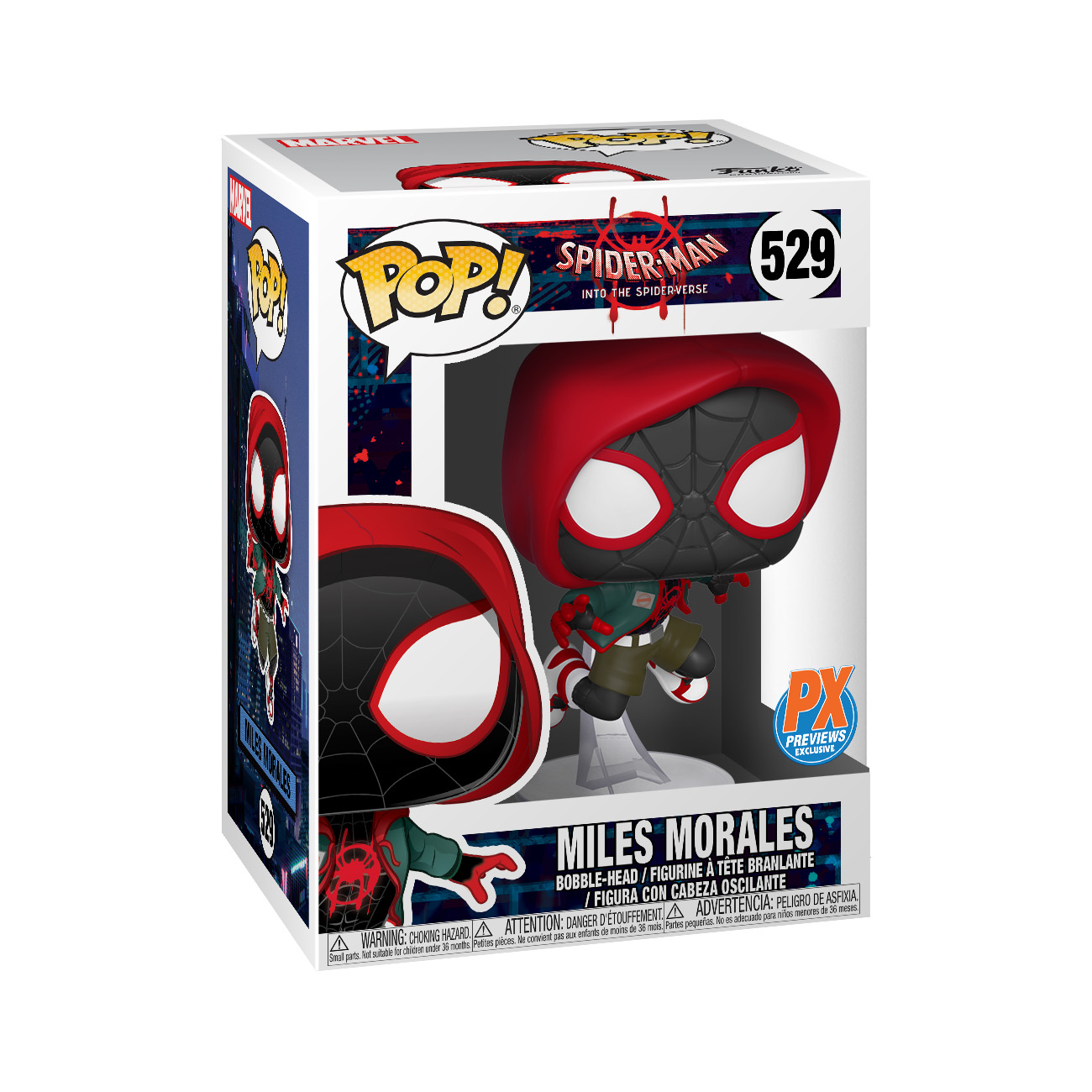 POP MARVEL INTO SPIDERVERSE CASUAL MILES MORALES PX VIN FIG