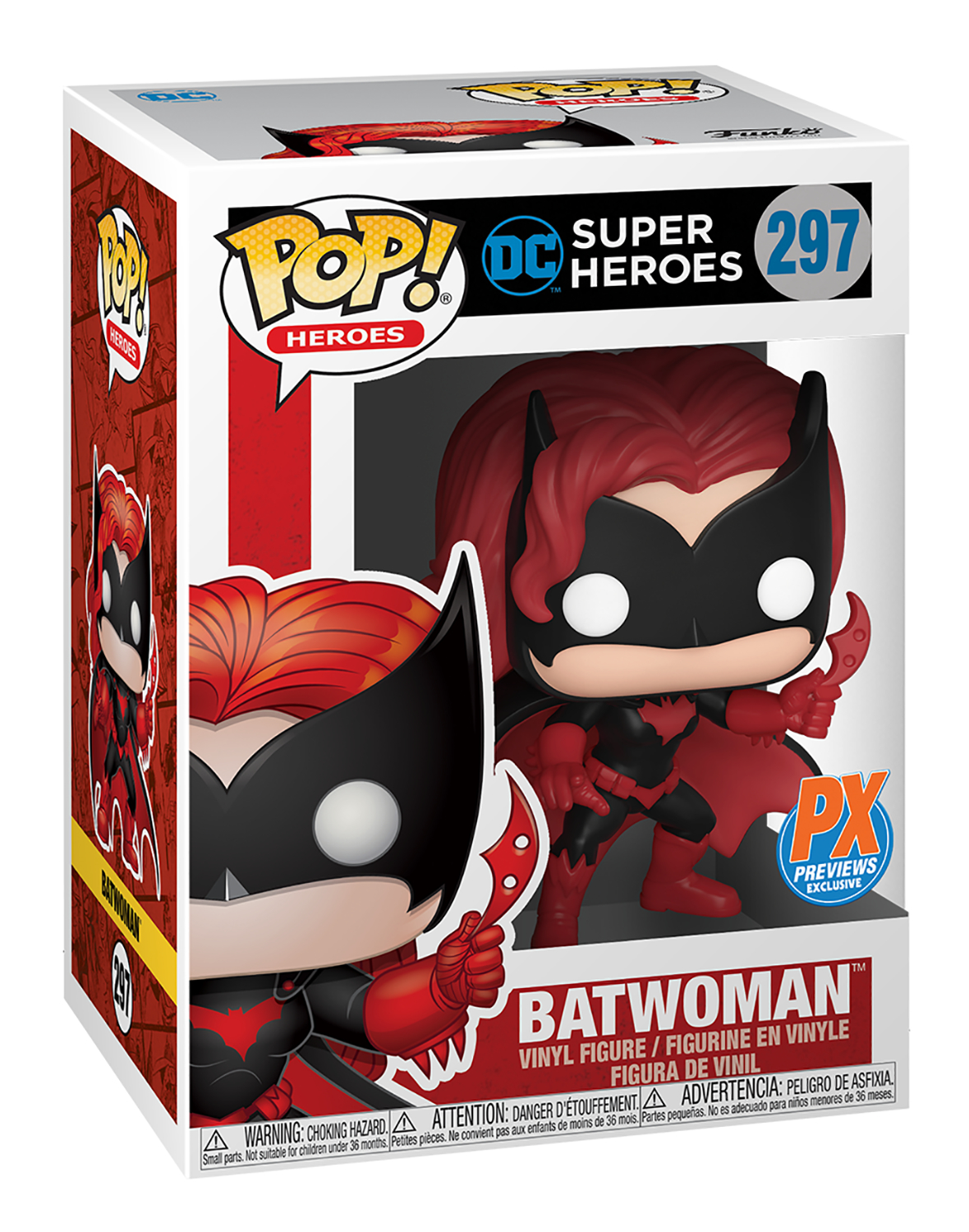 POP HEROES DC BATWOMAN PX VIN FIG