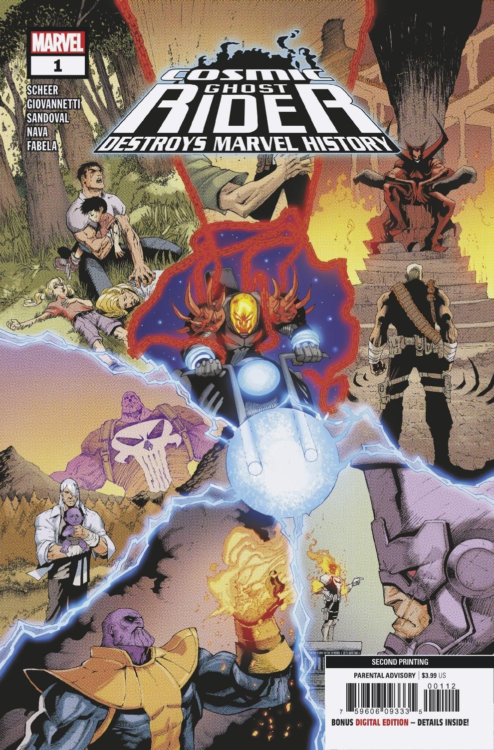 COSMIC GHOST RIDER DESTROYS MARVEL HISTORY #1 (OF 6) 2ND PTG