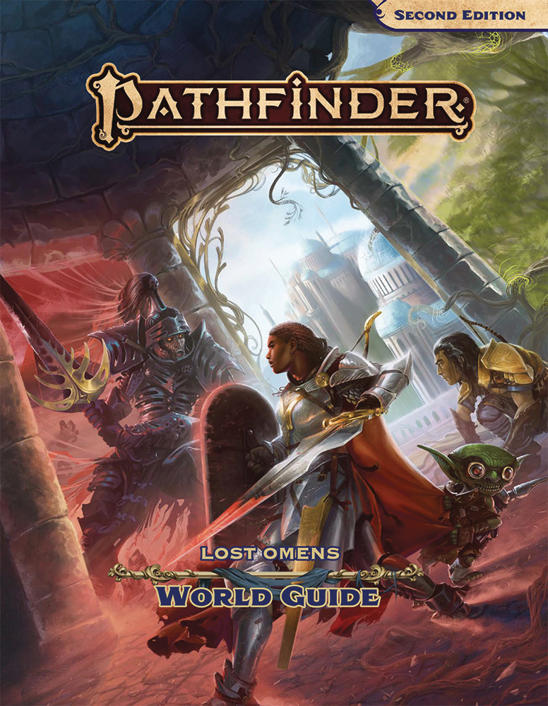 PATHFINDER LOST OMENS WORLD GUIDE HC (P2)