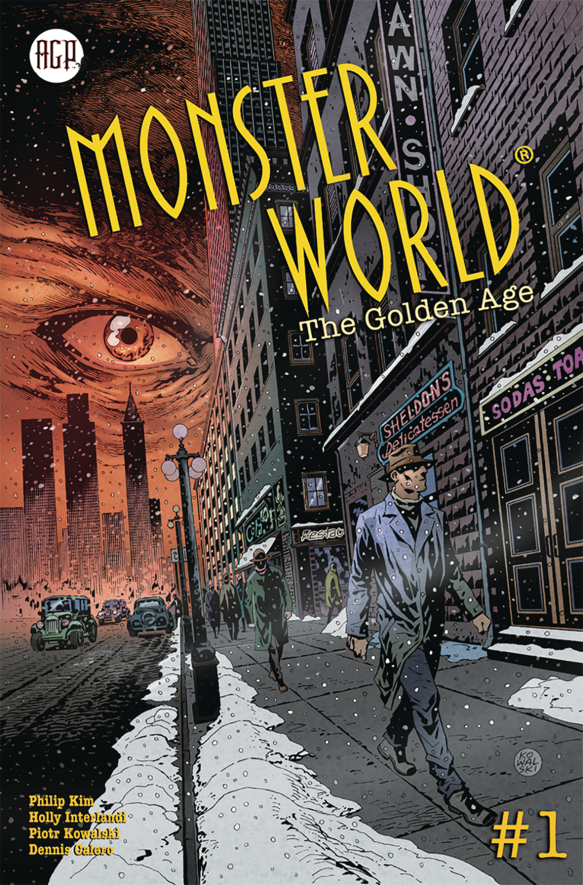 MONSTER WORLD GOLDEN AGE #1 (OF 6) CVR A KOWALSKI