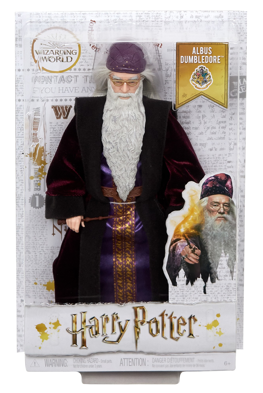 HARRY POTTER COS 7IN SCALE DUMBLEDORE DOLL (JAN199291)