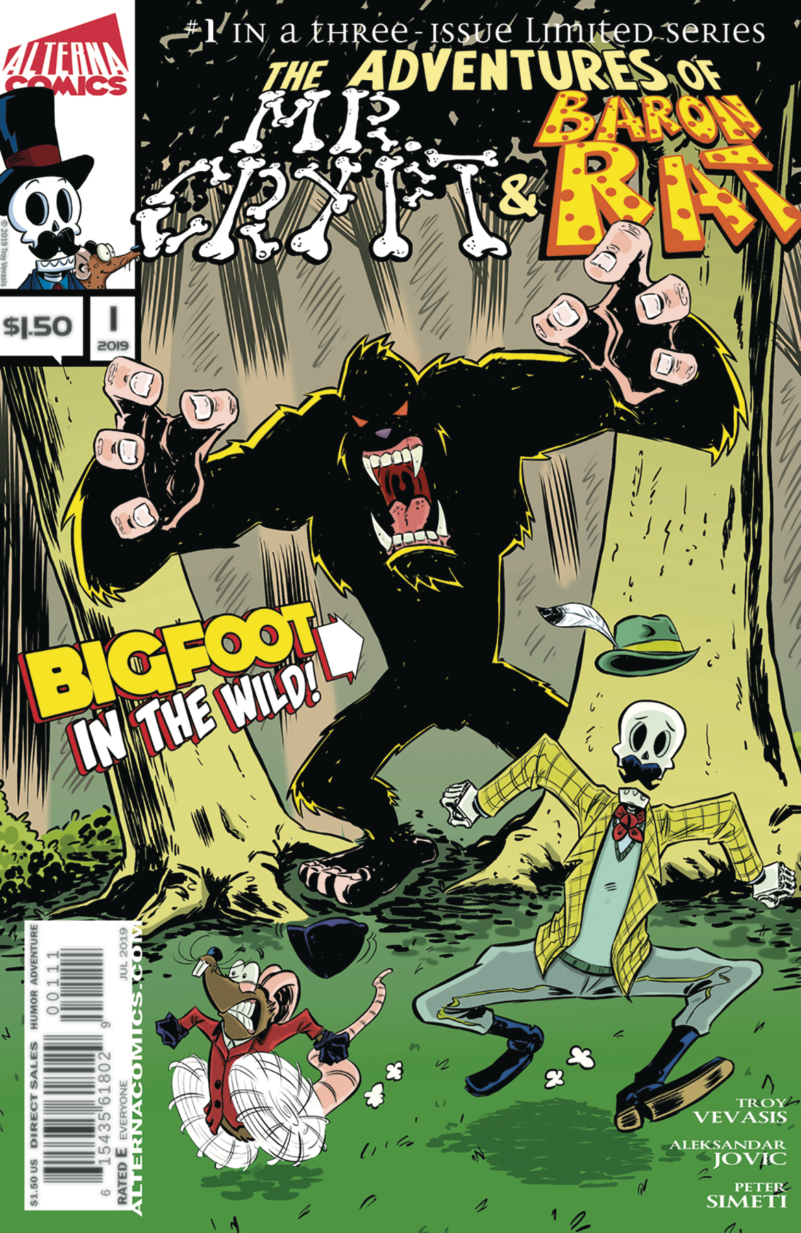 Image result for ADV OF MR CRYPT & BARON RAT #1