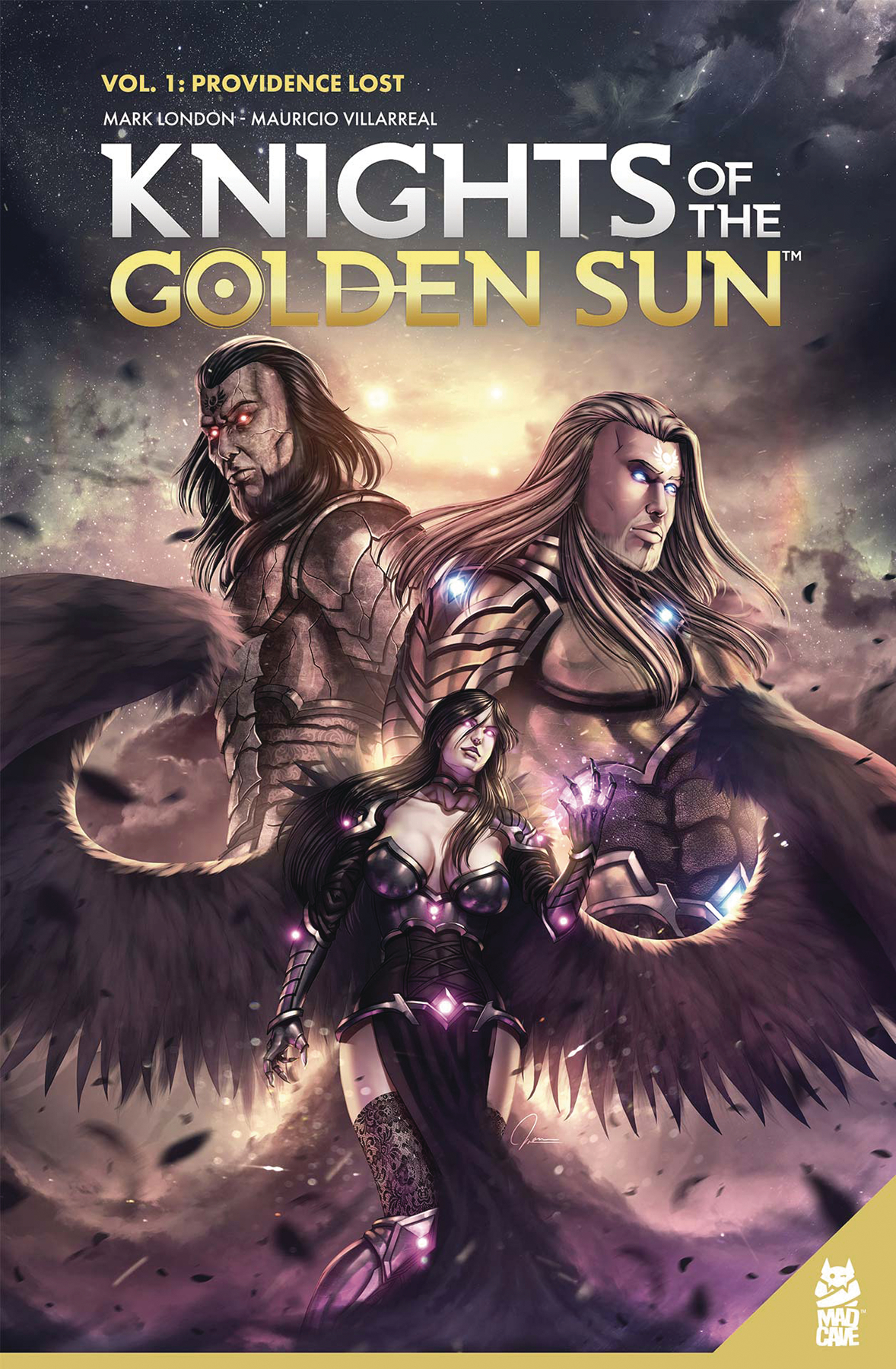 KNIGHTS OF THE GOLDEN SUN TP VOL 01
