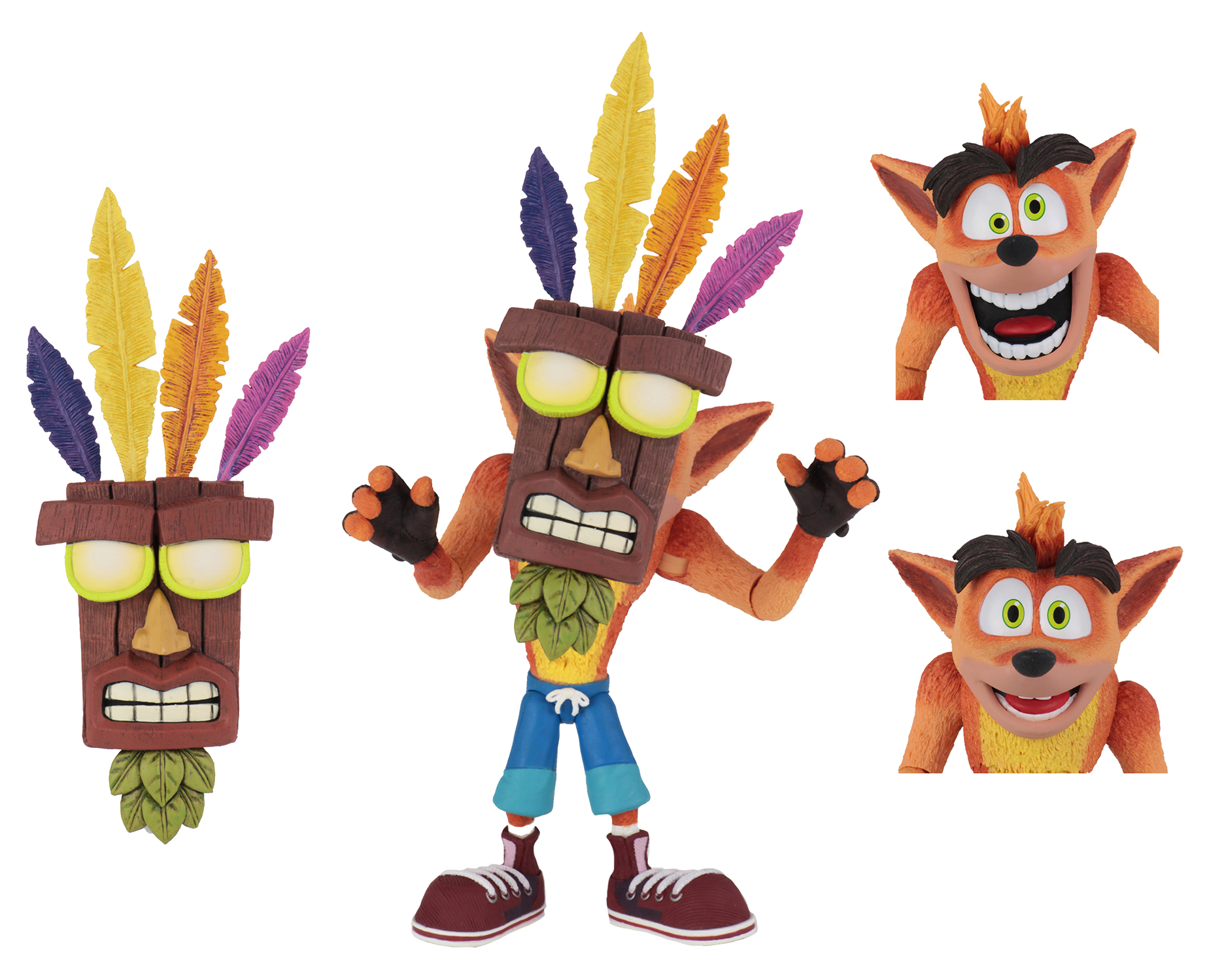 CRASH BANDICOOT CRASH ACTION FIGURE