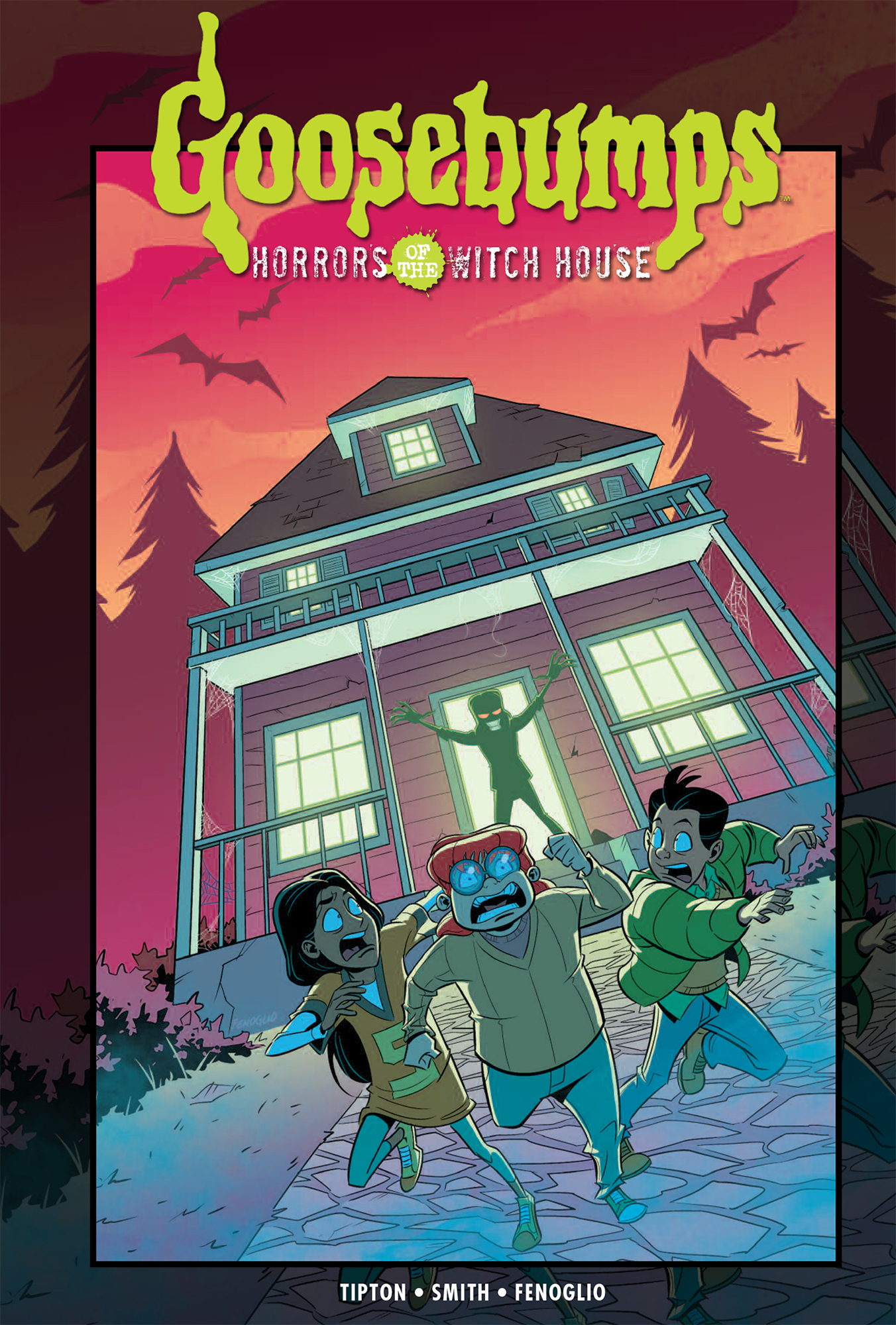 GOOSEBUMPS HORRORS OF THE WITCH HOUSE HC
