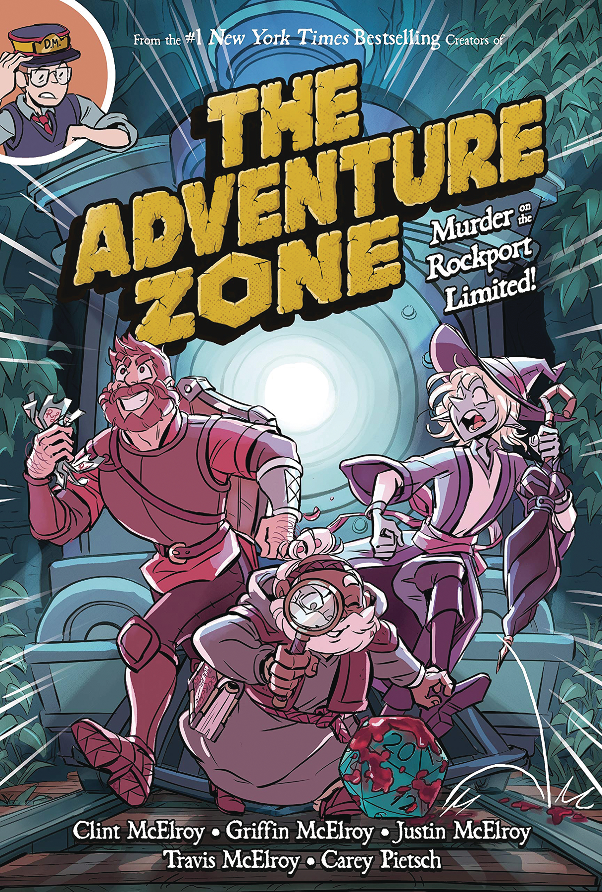 The Adventure Zone GN Vol 02 Murder on the Rockport Limited