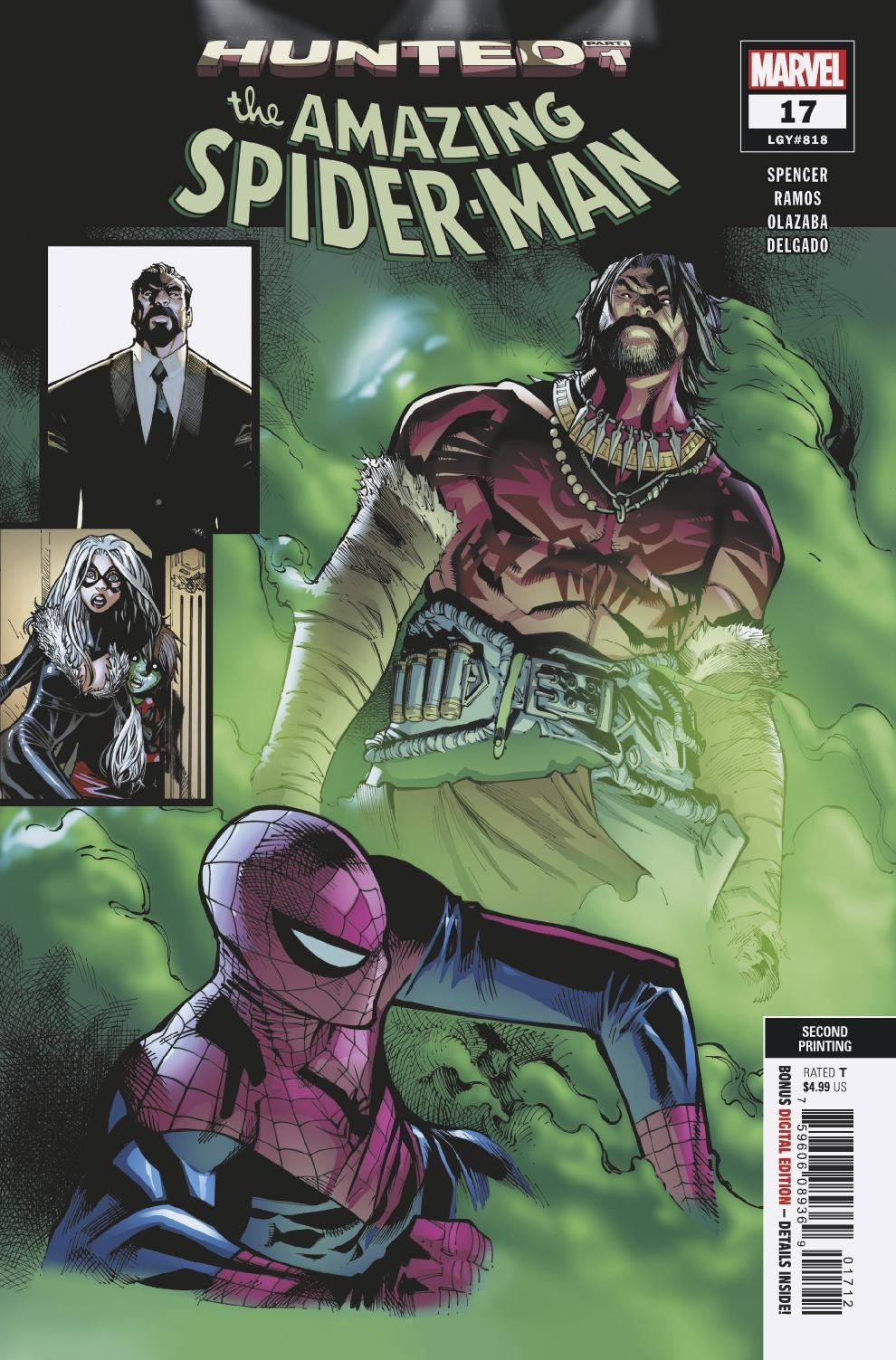 AMAZING SPIDER-MAN #17 2ND PTG RAMOS VAR
