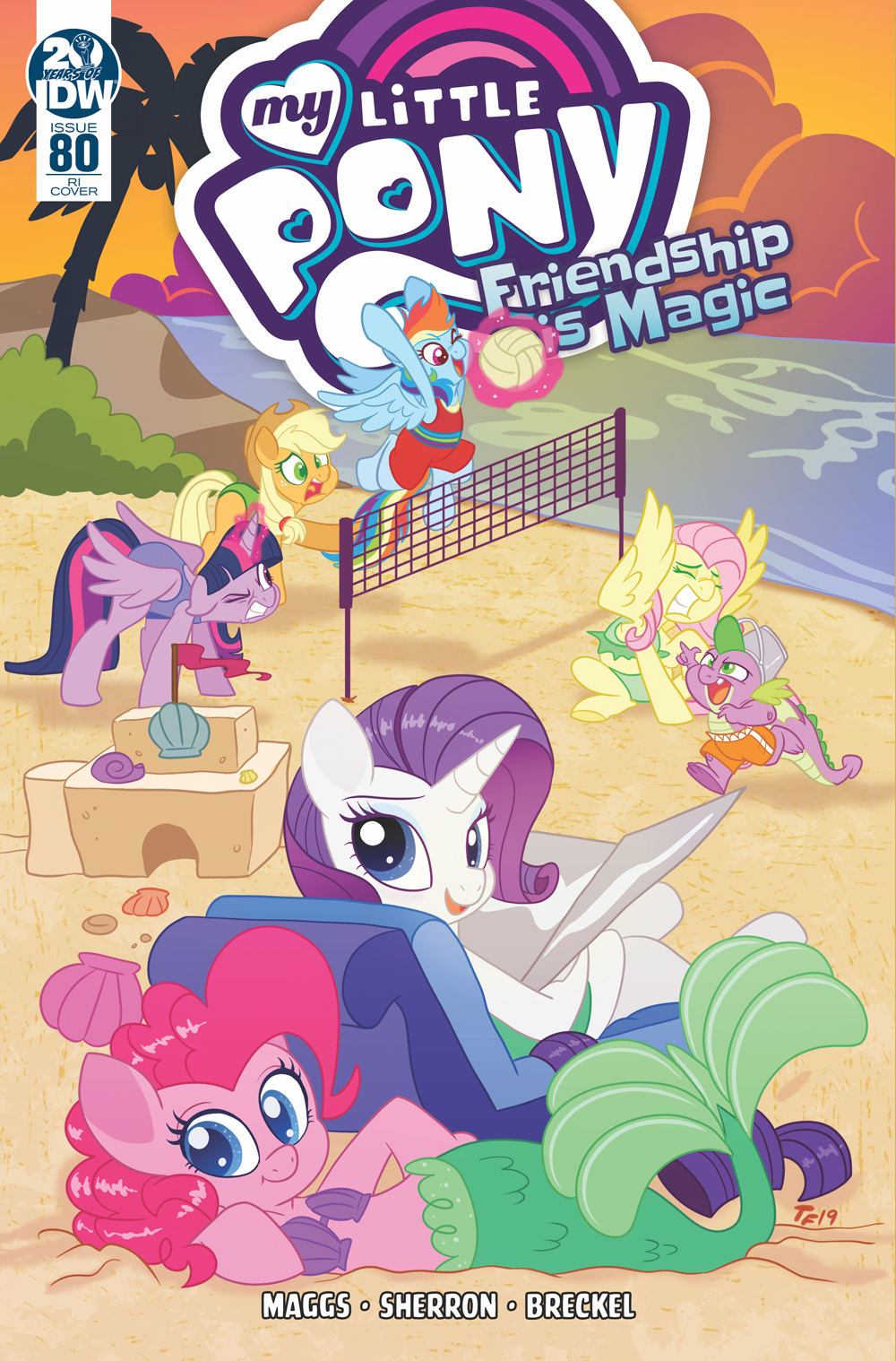 MY LITTLE PONY FRIENDSHIP IS MAGIC #80 10 COPY INCV FORSTNER