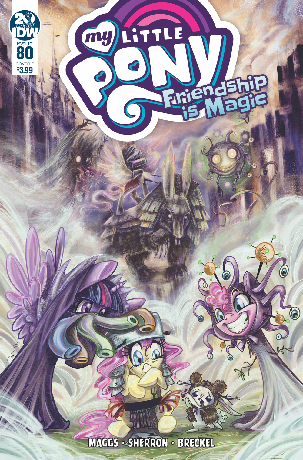 MY LITTLE PONY FRIENDSHIP IS MAGIC #80 CVR B RICHARD