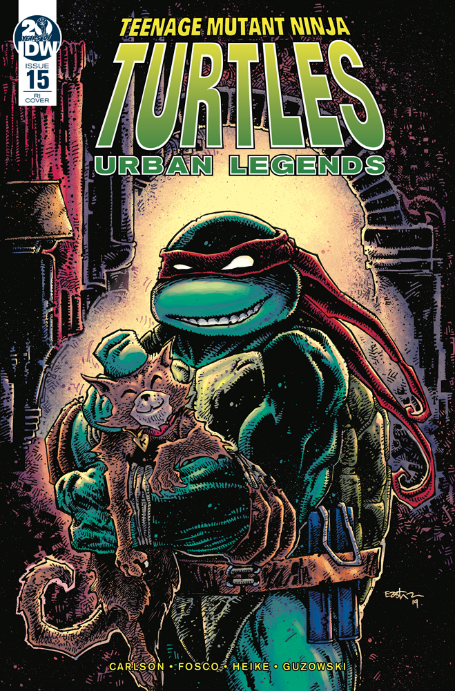 TMNT URBAN LEGENDS #15 10 COPY INCV EASTMAN