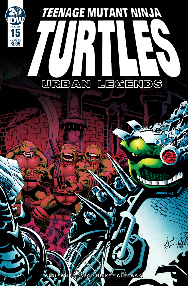 TMNT URBAN LEGENDS #15 CVR B FOSCO & LARSEN