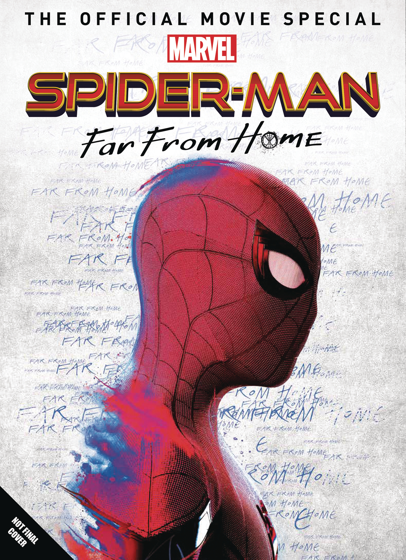 MAY191967 - SPIDER-MAN FAR FROM HOME OFF MOVIE SPECIAL HC - Previews