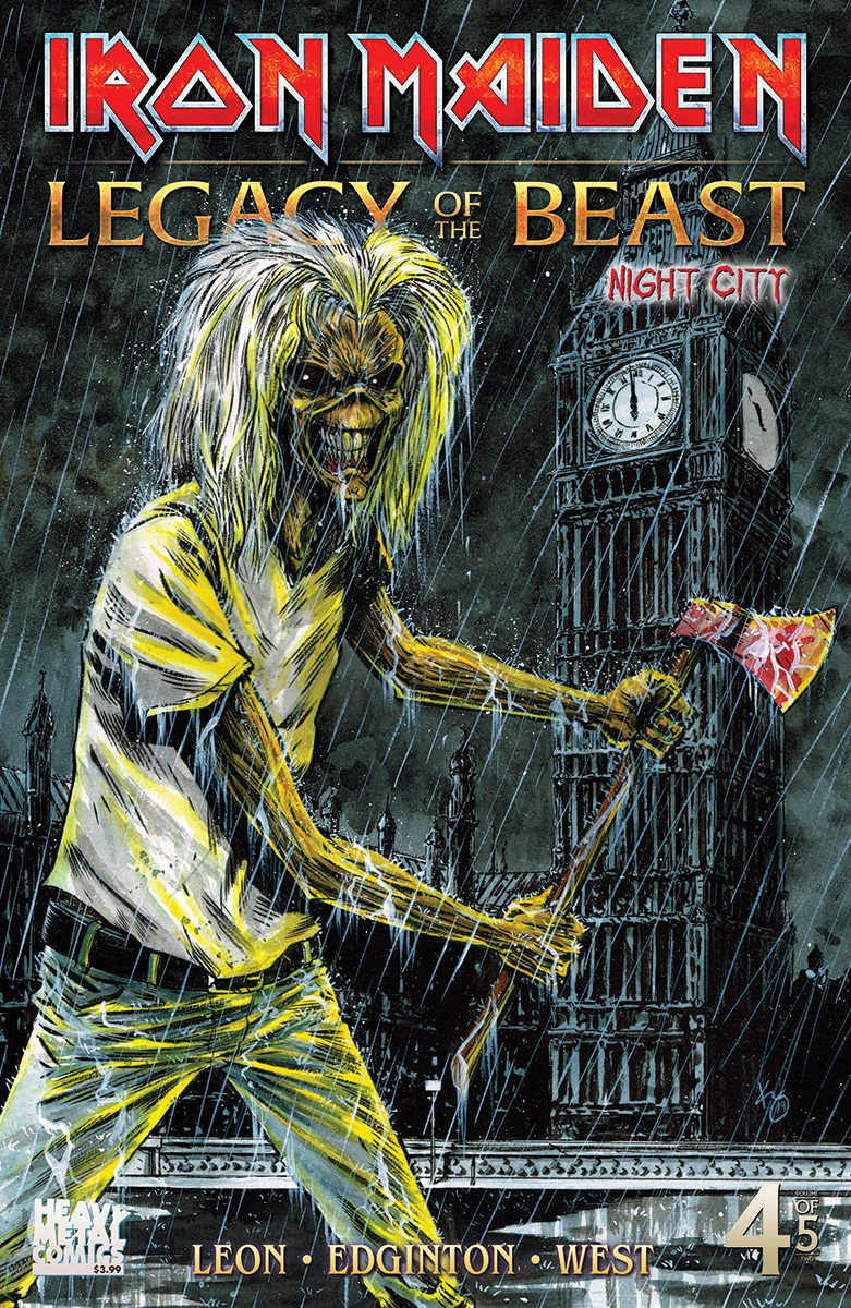IRON MAIDEN LEGACY O/T BEAST VOL 2 NIGHT CITY #4 CVR C TBD
