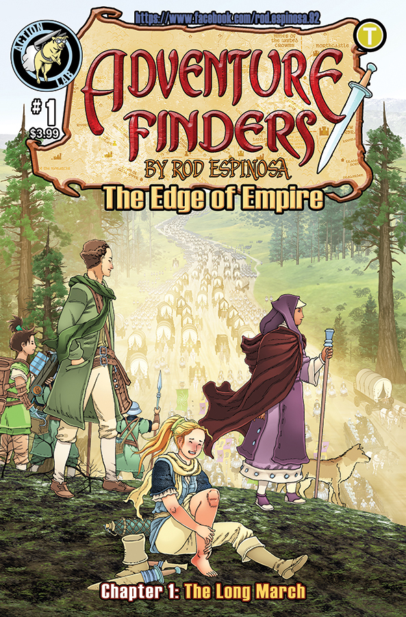 ADVENTURE FINDERS EDGE OF EMPIRE #1 (RES)