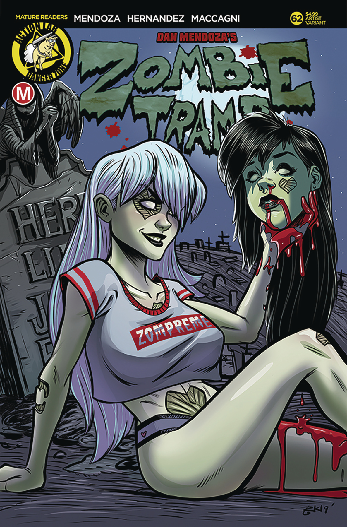 ZOMBIE TRAMP ONGOING #62 CVR C GARCIA VAR (MR)