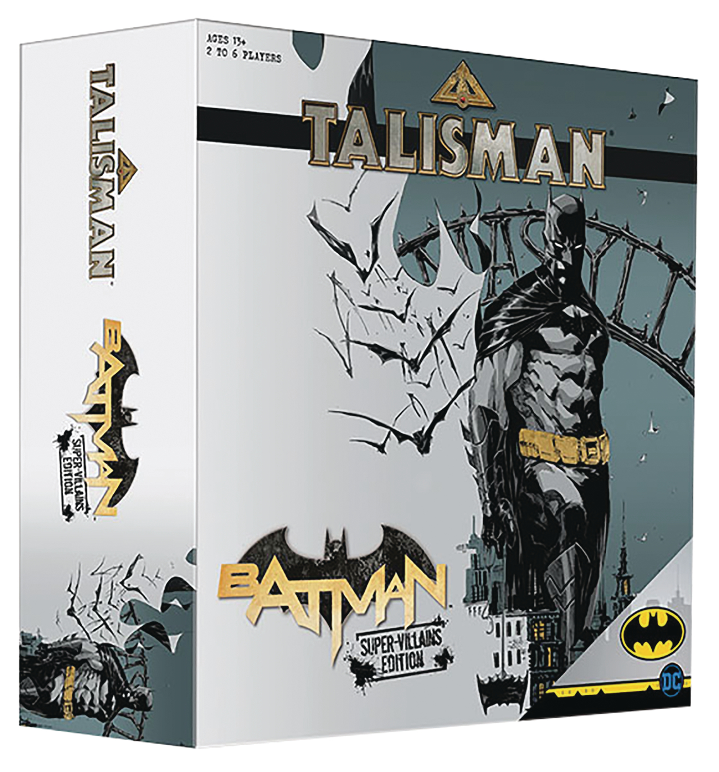 BATMAN TALISMAN BOARD GAME