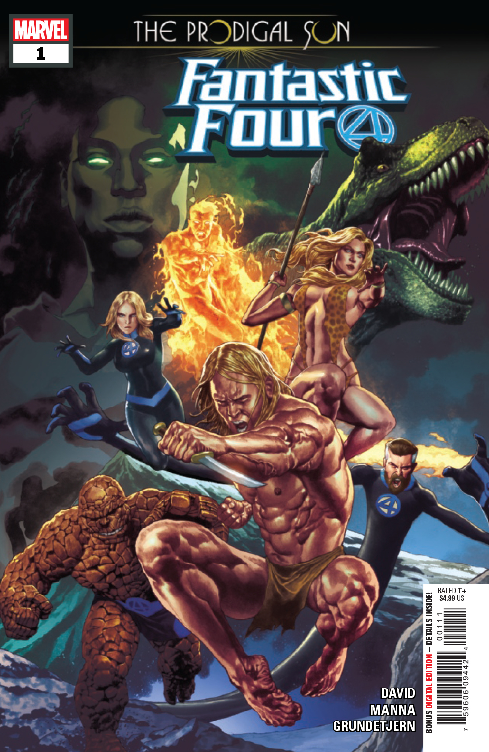 FANTASTIC FOUR PRODIGAL SUN #1