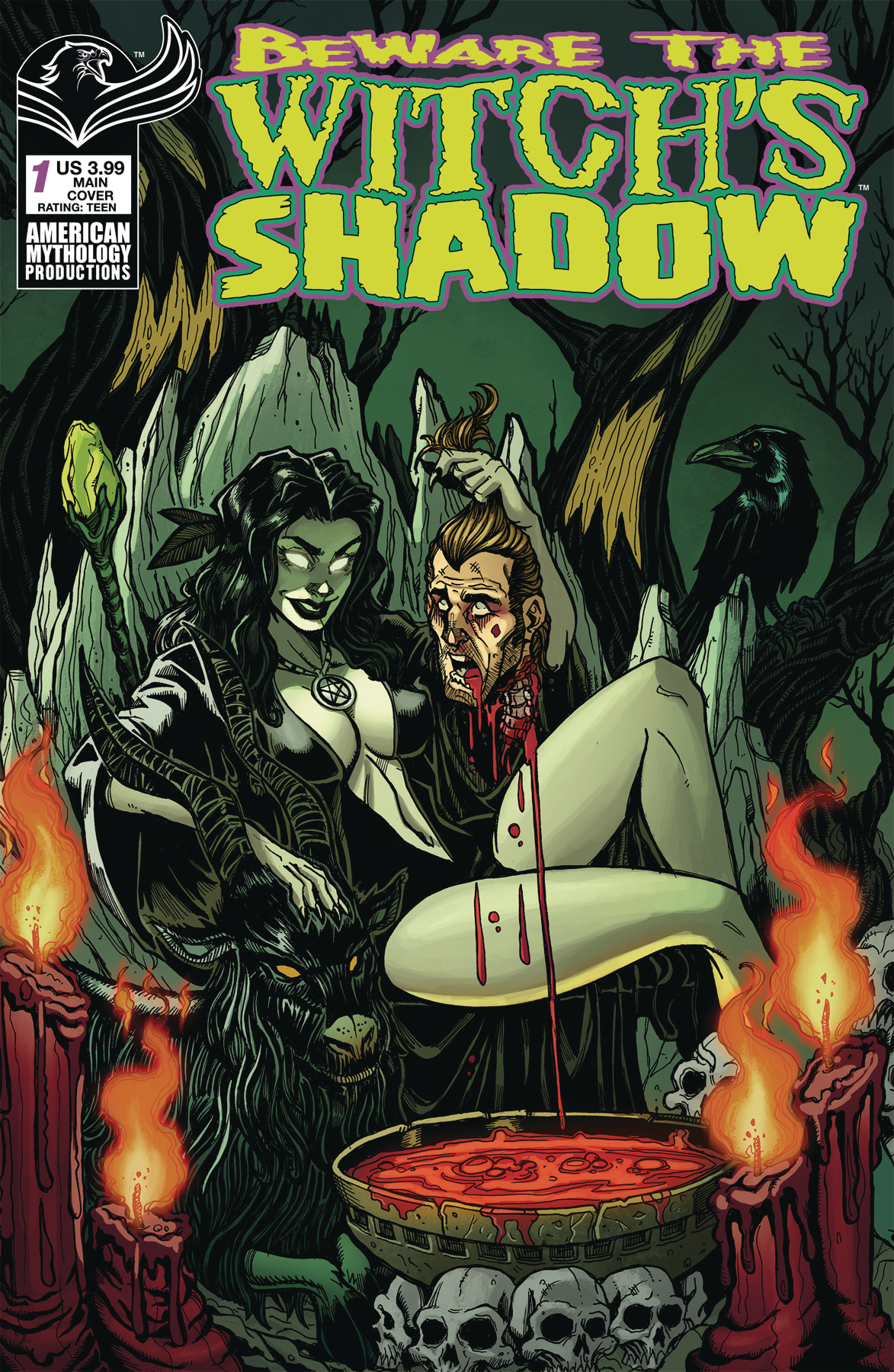 BEWARE THE WITCHS SHADOW #1 CVR A CALZADA