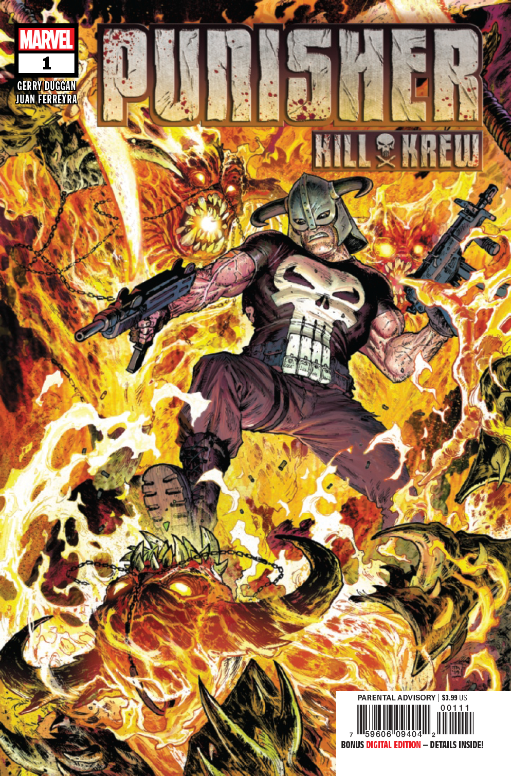 PUNISHER KILL KREW #1 (OF 5)