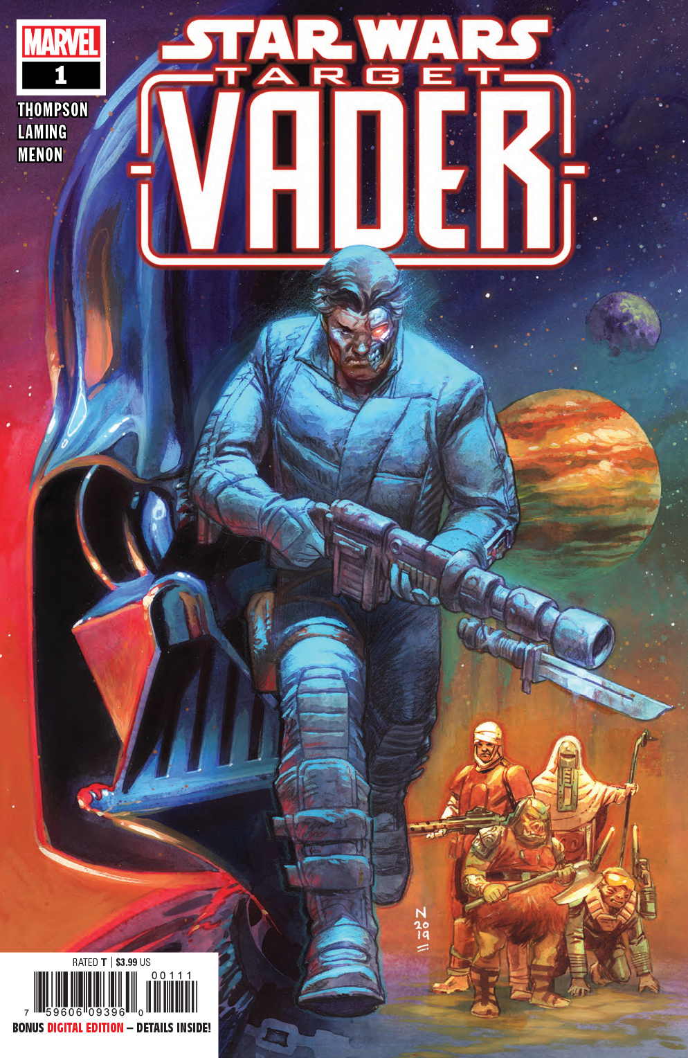 73755bd1cd21 MAY190928 - STAR WARS TARGET VADER #1 (OF 6) - Previews World