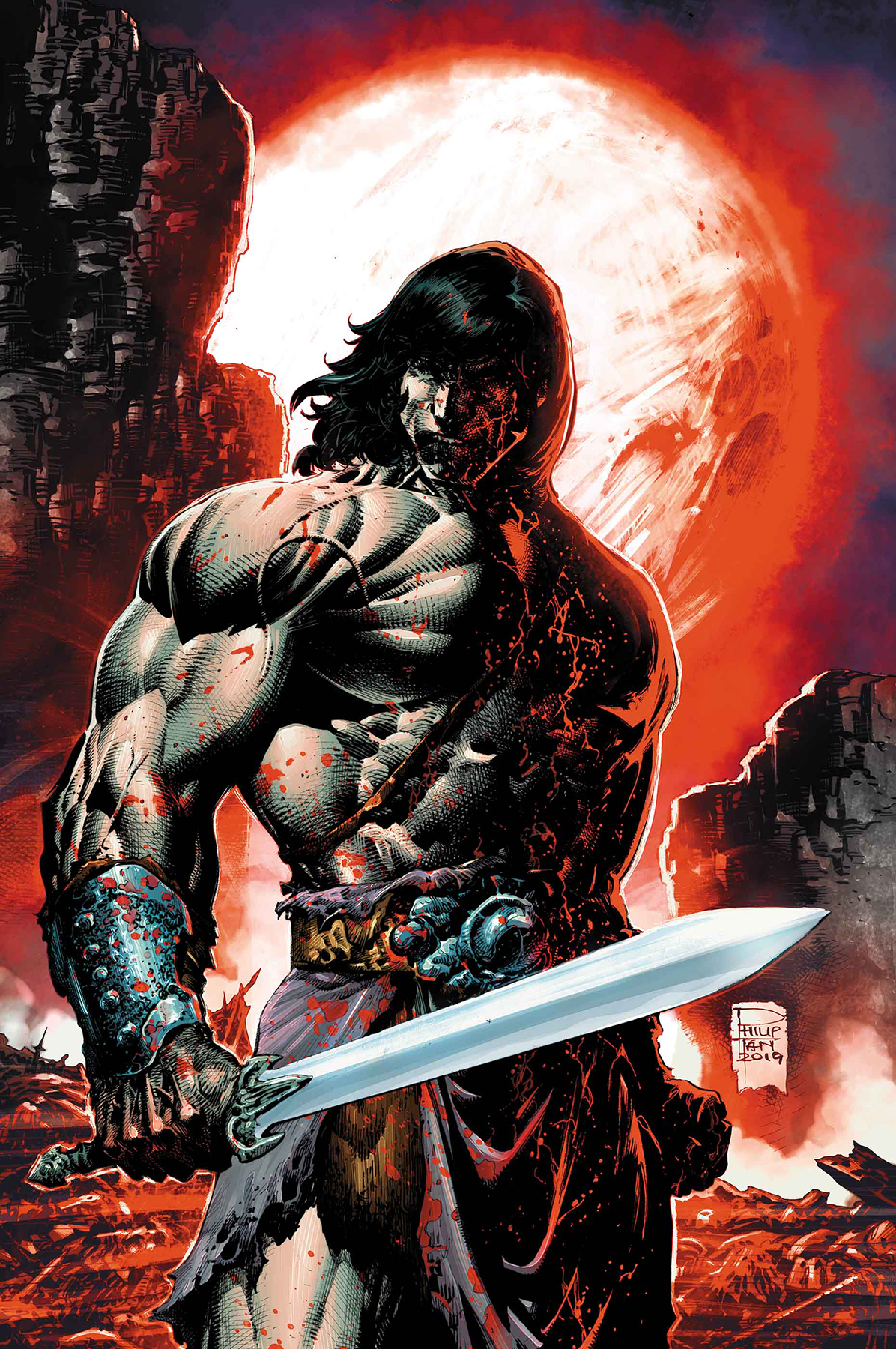 SAVAGE SWORD OF CONAN #7 PHILIP TAN VAR