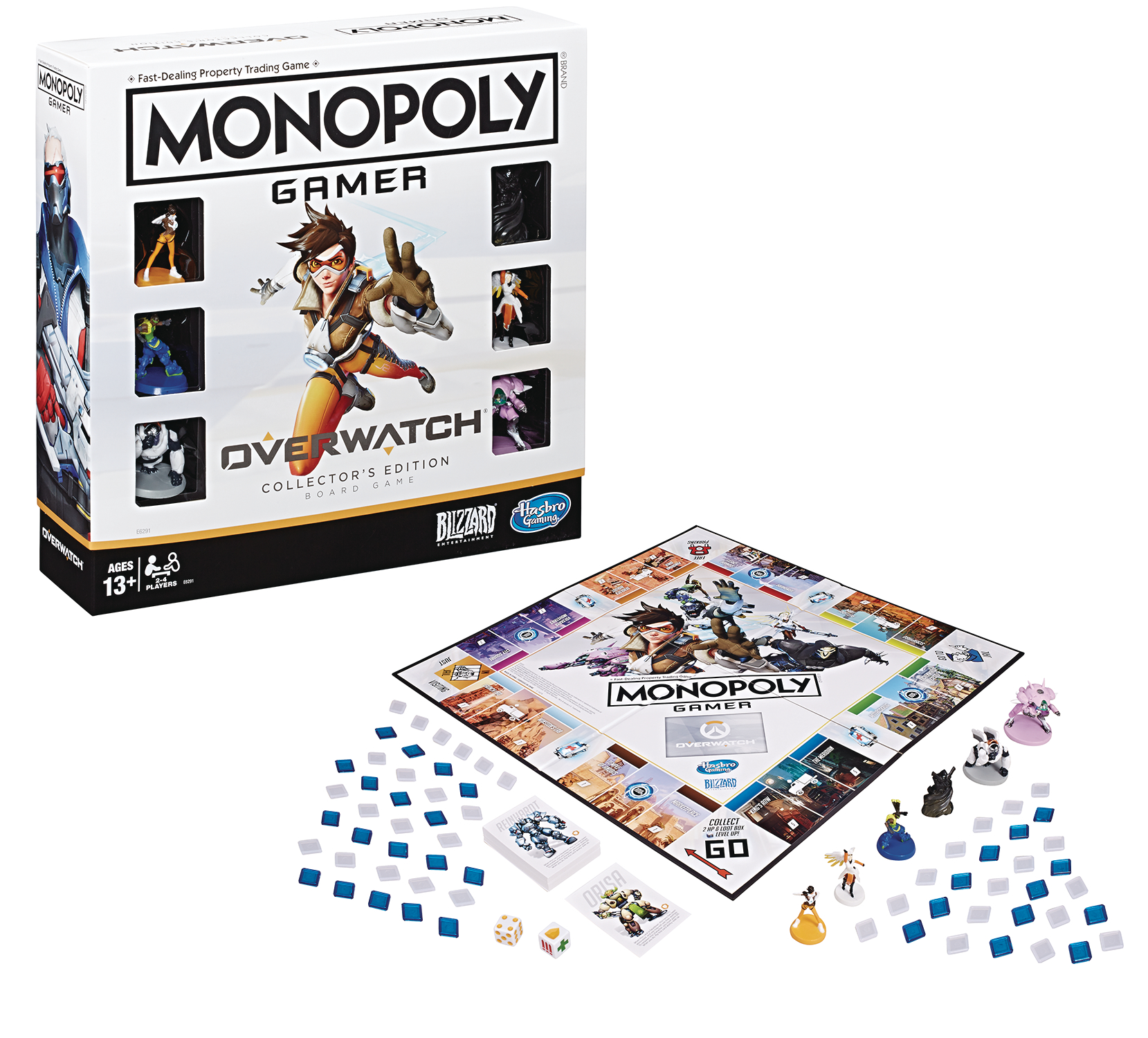 MONOPOLY OVERWATCH EDITION GAME CS