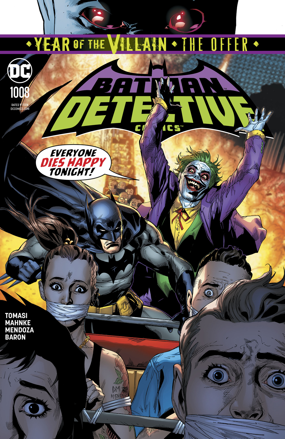 DETECTIVE COMICS #1008 YOTV THE OFFER