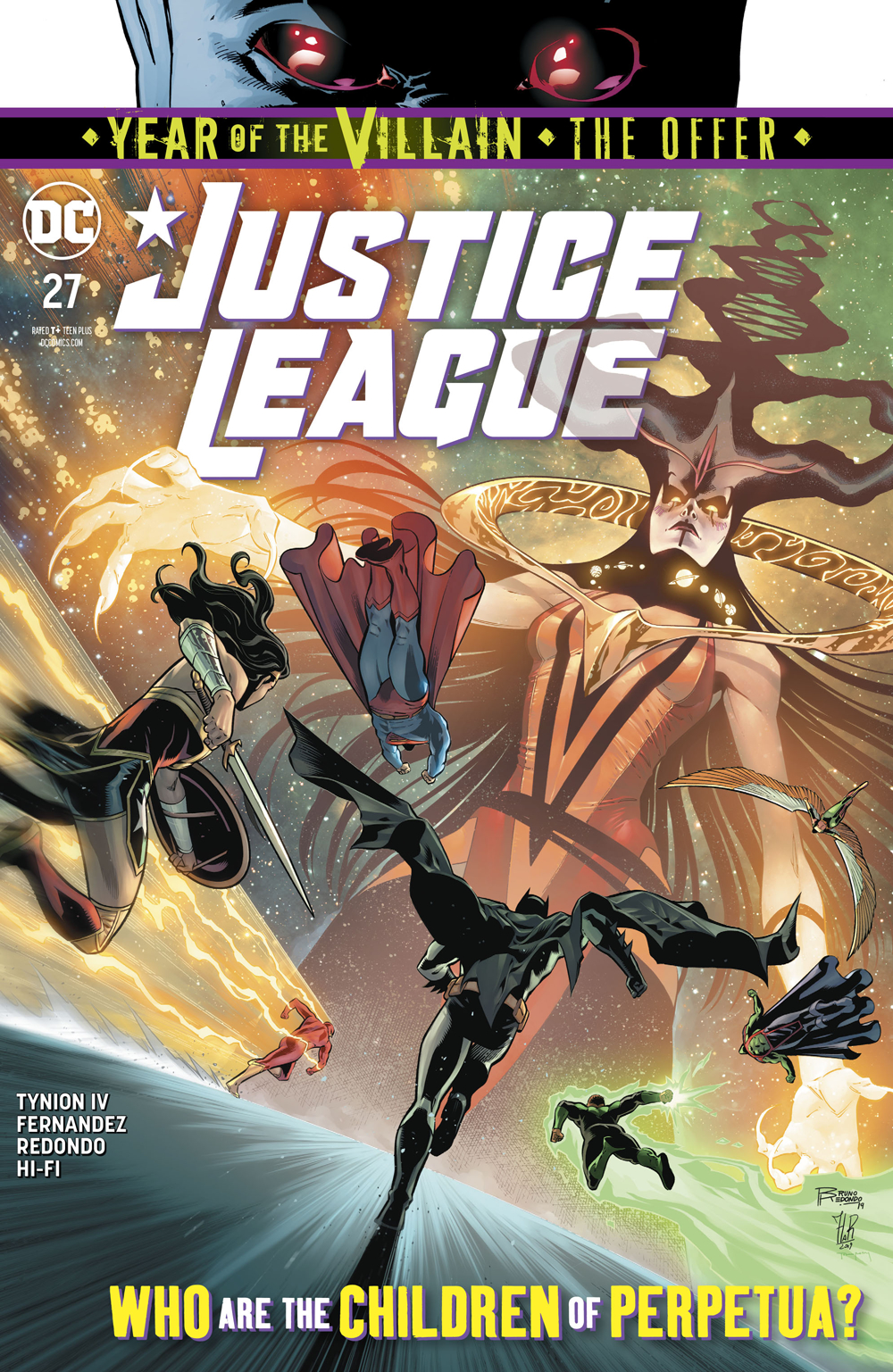 JUSTICE LEAGUE #27 YOTV VAR ED THE OFFER