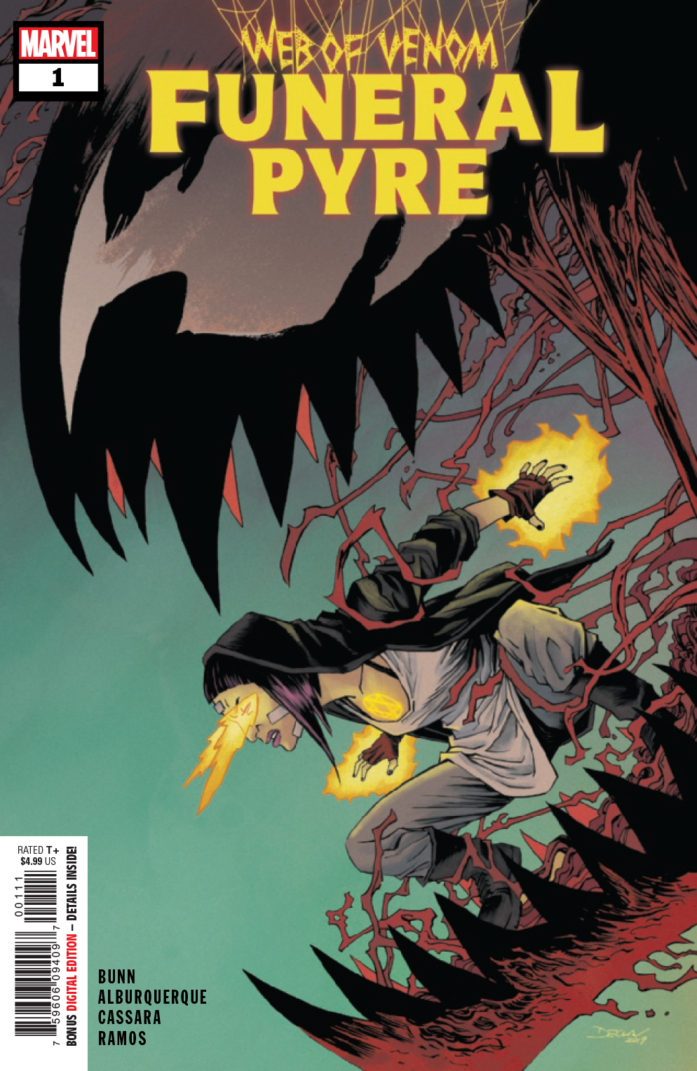 MAY190842 - WEB OF VENOM FUNERAL PYRE #1 - Previews World