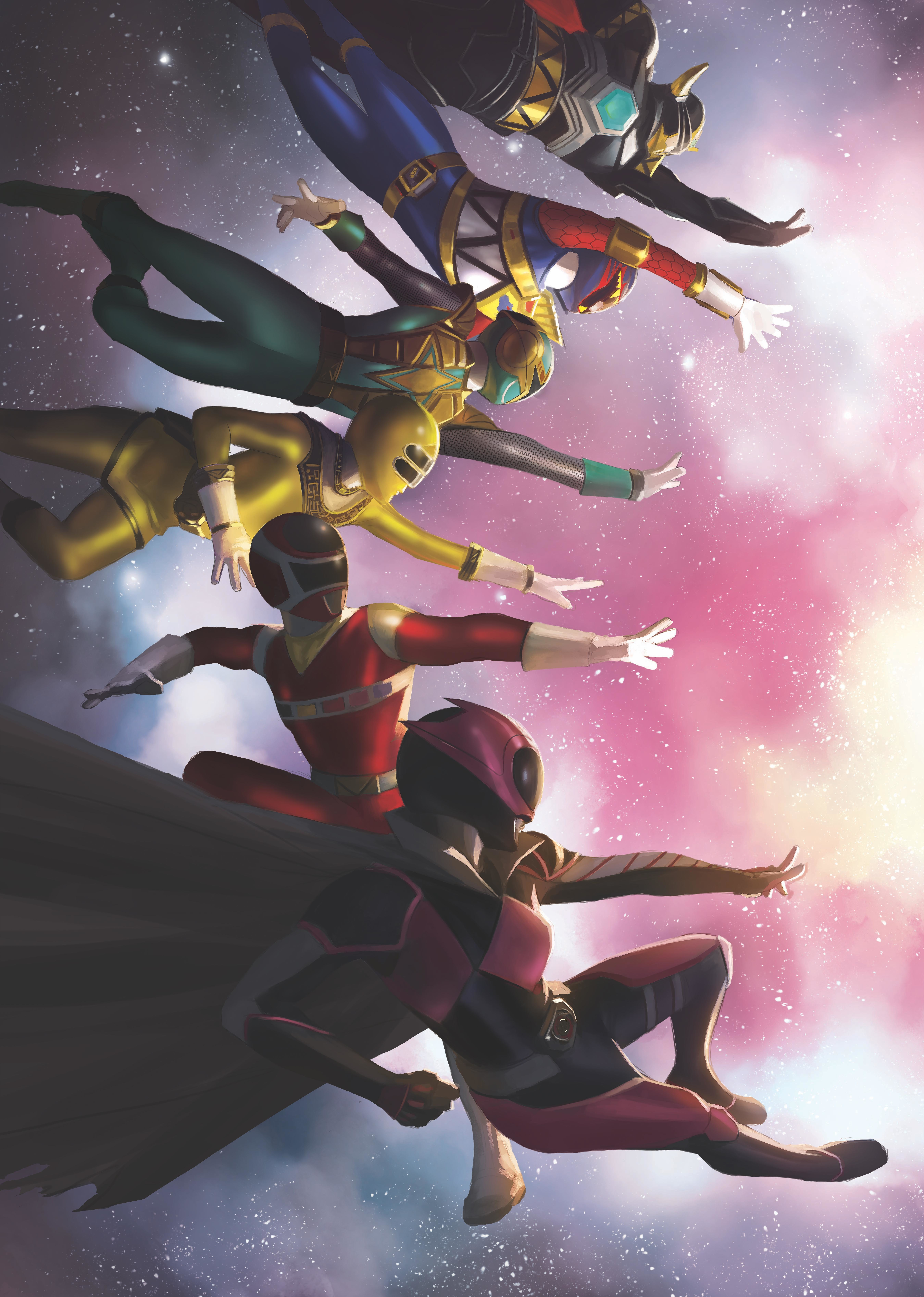 MIGHTY MORPHIN POWER RANGERS #38 FOC MERCADO VAR