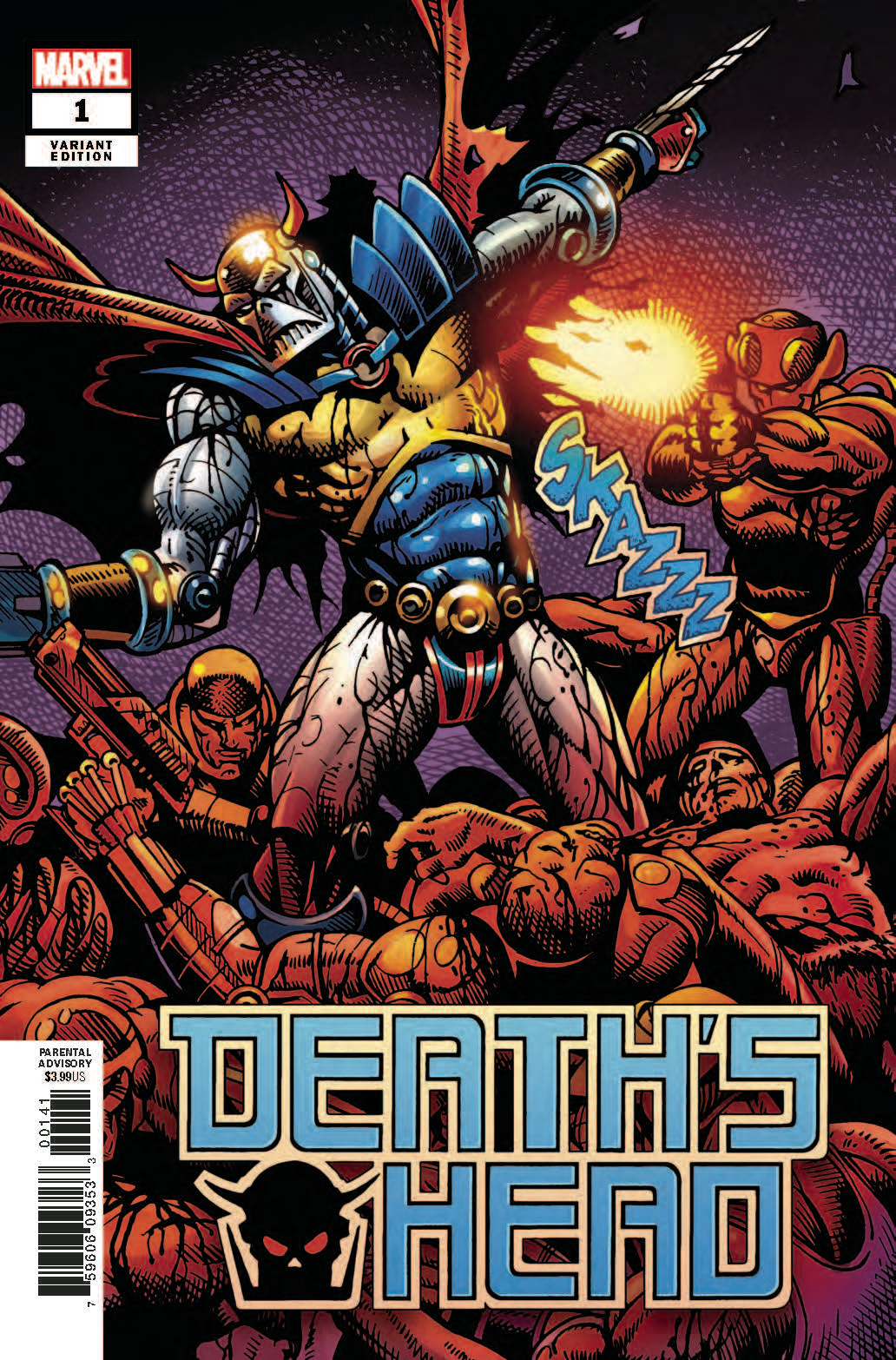 DEATHS HEAD #1 (OF 4) SHARP REMASTERED VAR