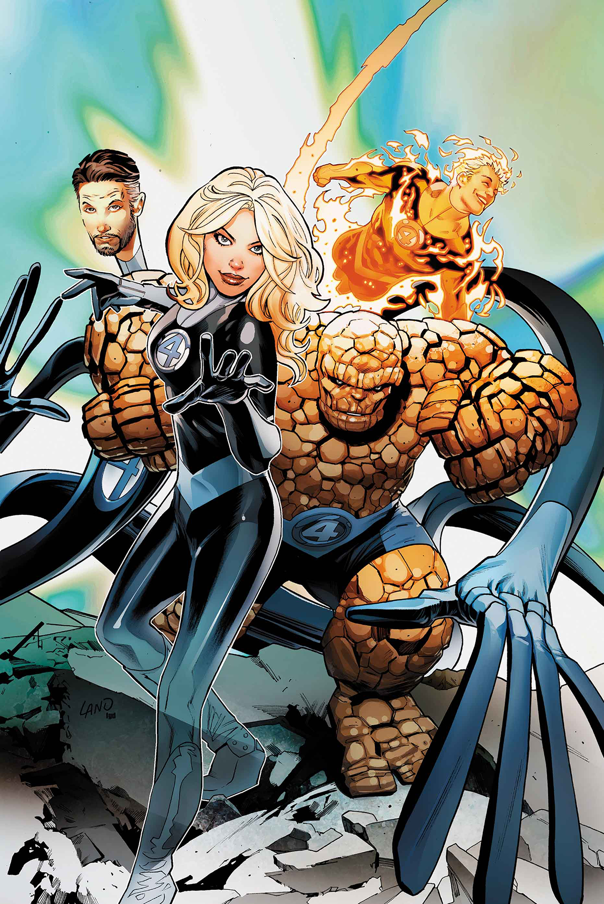 FANTASTIC FOUR PRODIGAL SUN #1 LAND VAR