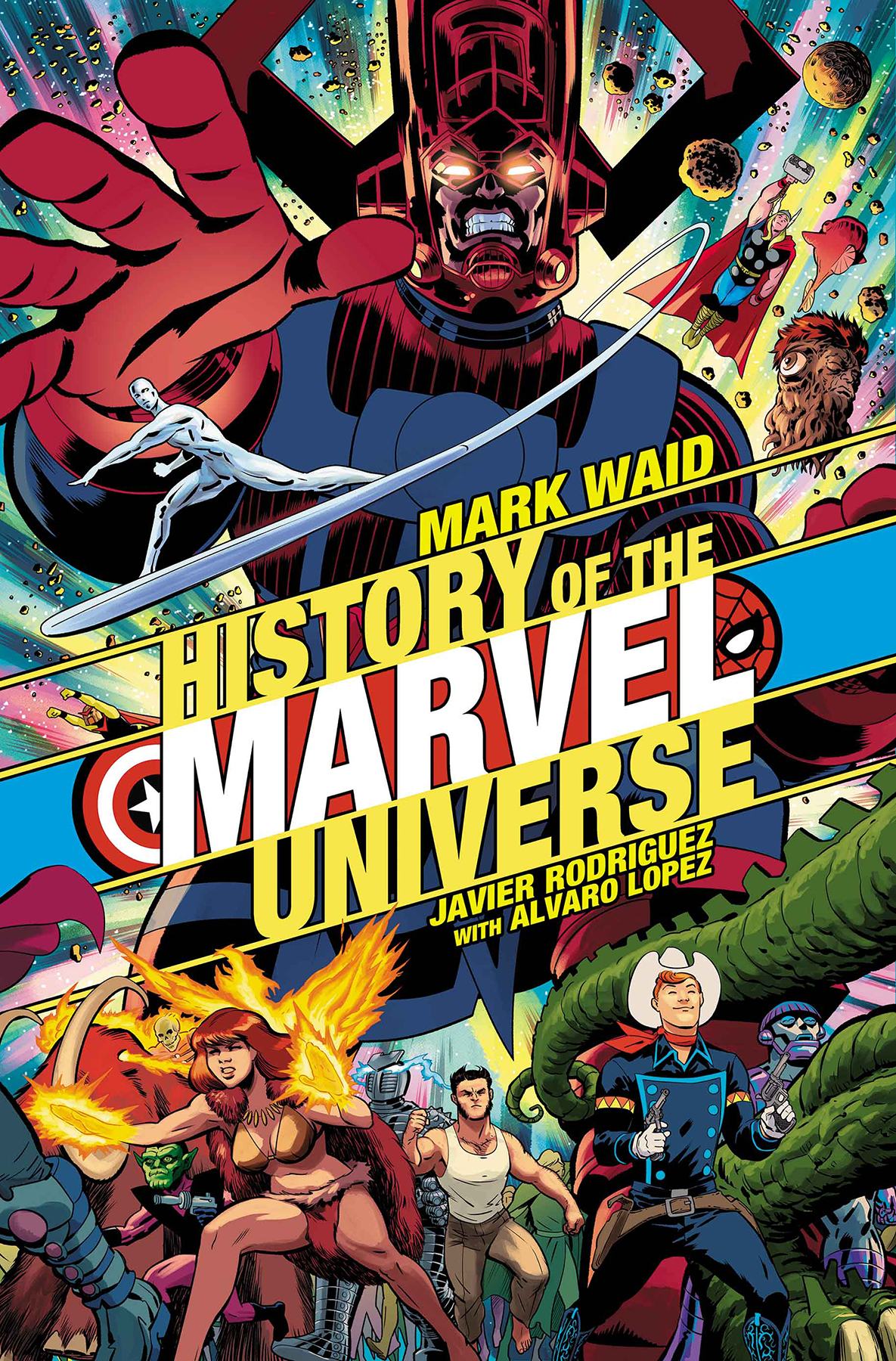 HISTORY OF MARVEL UNIVERSE #1 (OF 6) RODRIGUEZ VAR