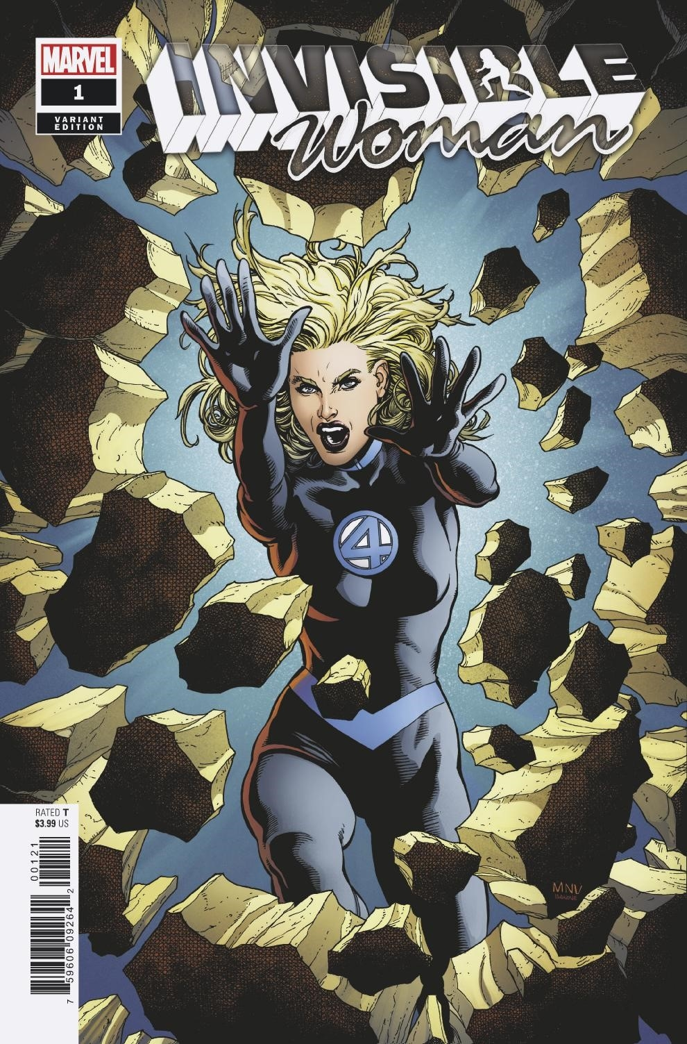 INVISIBLE WOMAN #1 (OF 5) MCNIVEN VAR