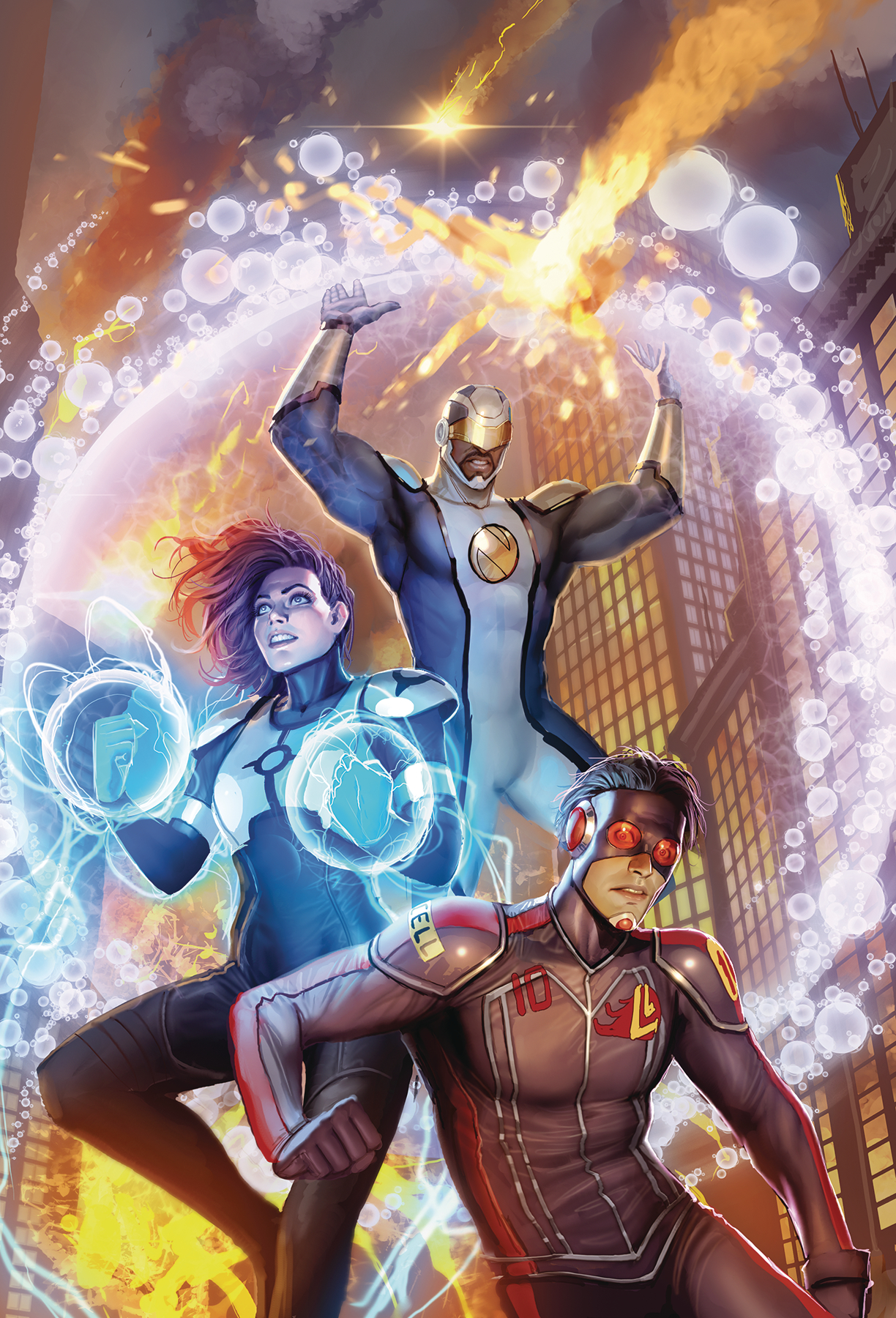 CATALYST PRIME SEVEN DAYS #1 (OF 7) MAIN CVR