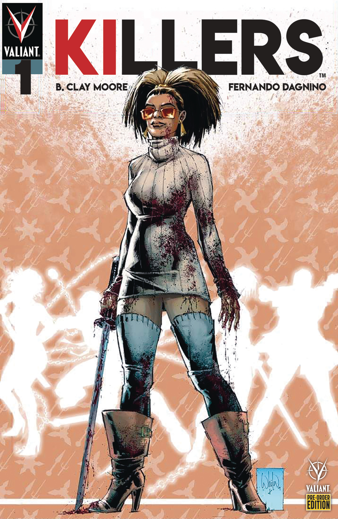 KILLERS #1 (OF 5) CVR F #1-5 PREORDER BUNDLE ED